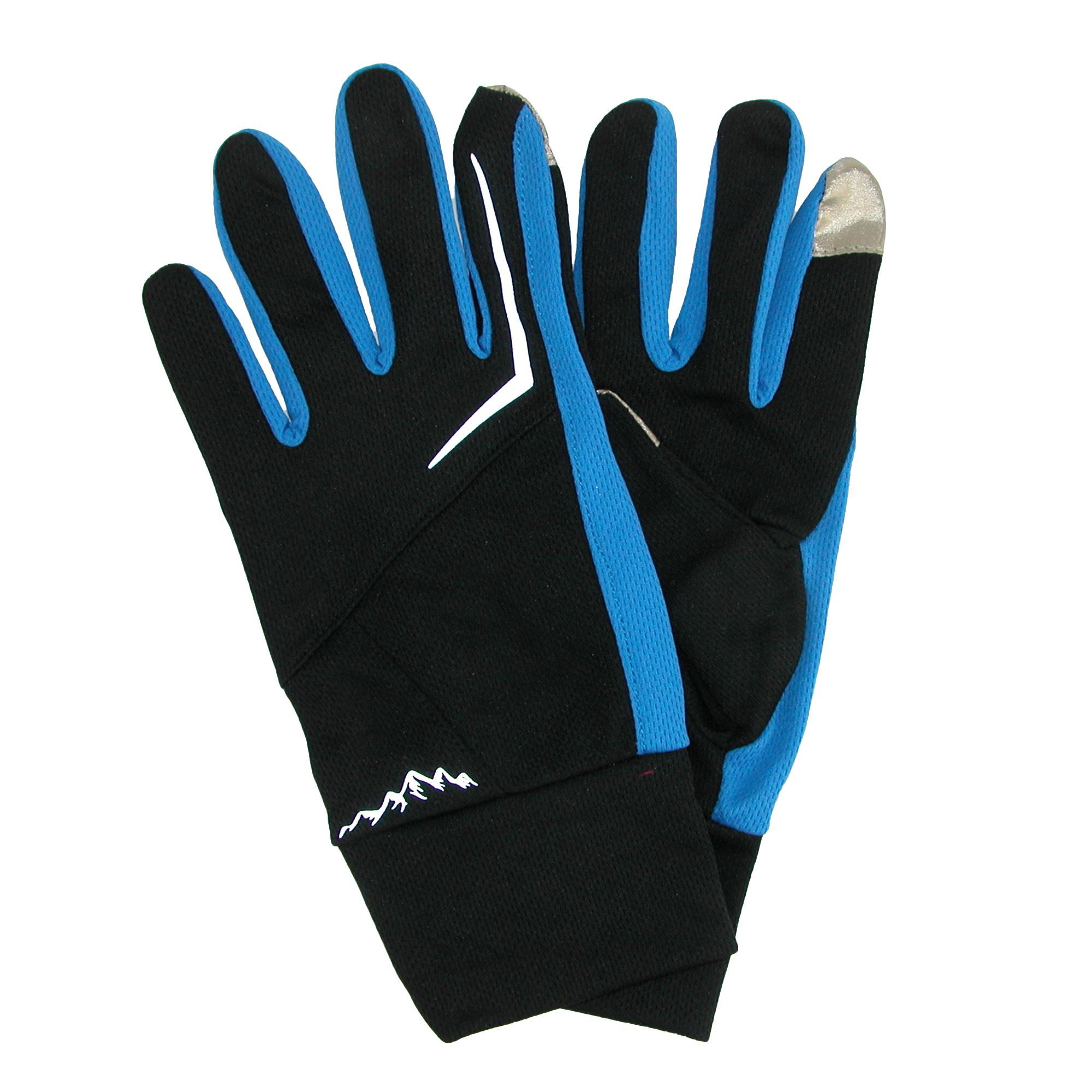 Grand Sierra Mens Micromesh Touch Screen Athletic Gloves