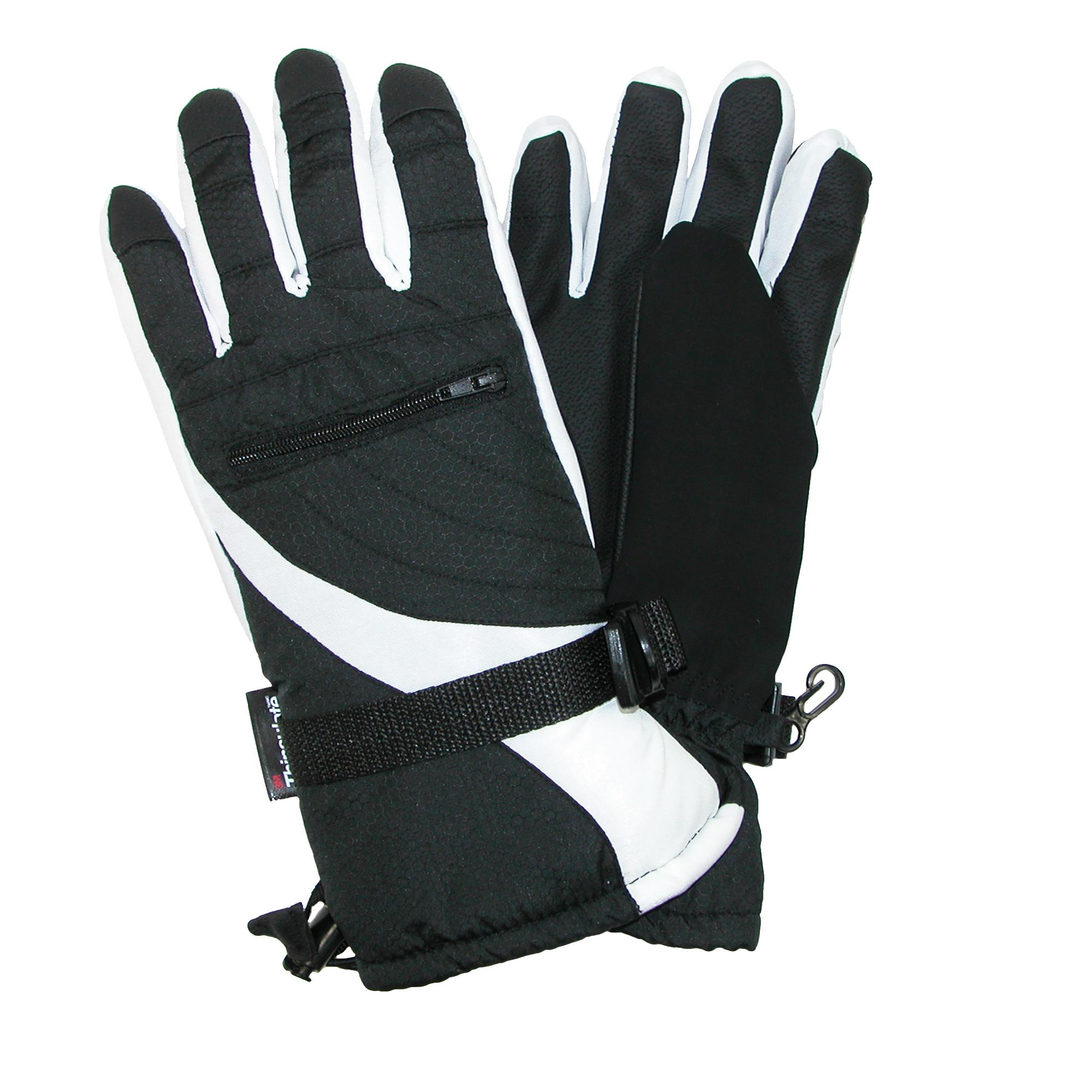 Grand Sierra Womens Bec-tec Waterproof Glove With Zippered Pocket