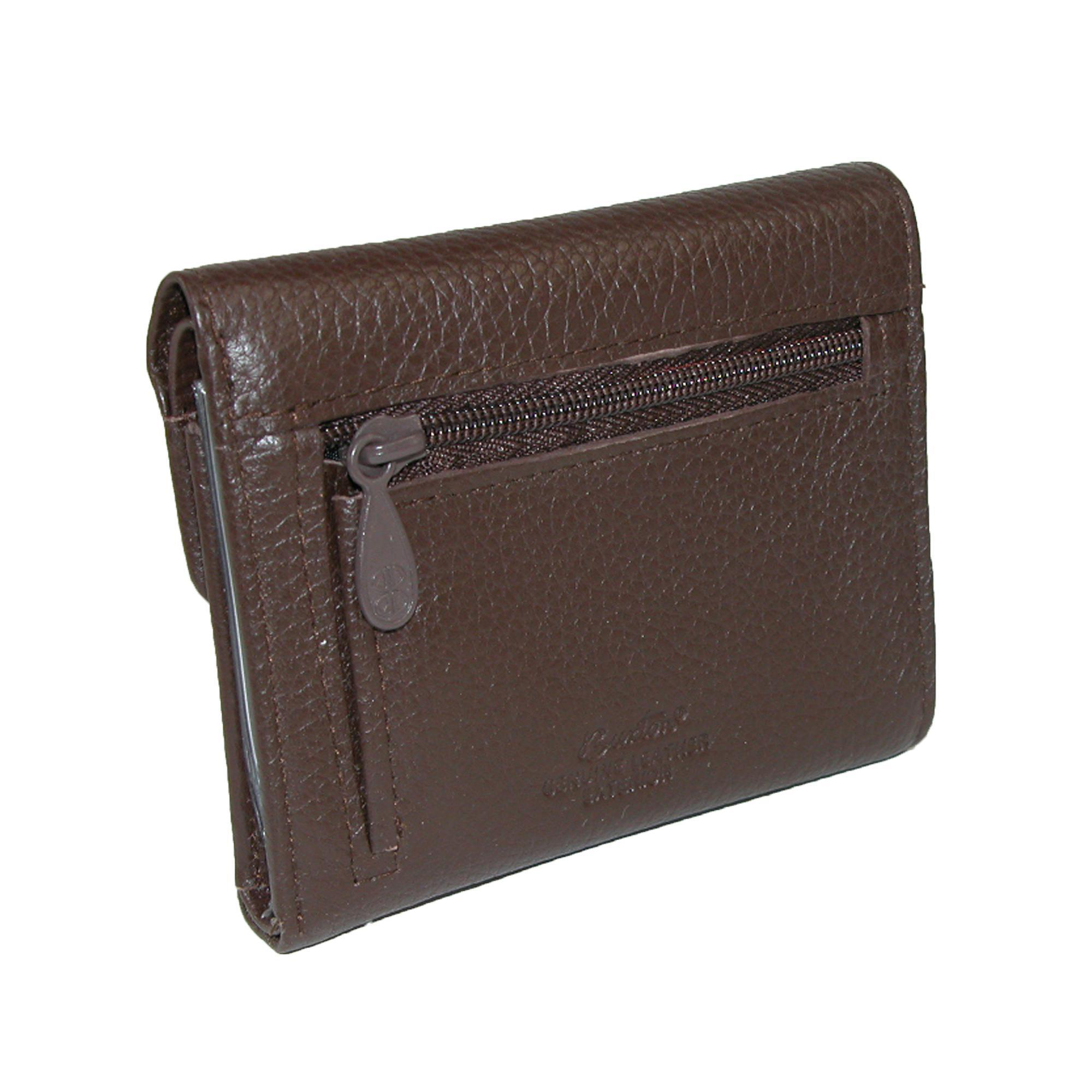 New-Buxton-Women-039-s-Leather-Mini-Tri-Fold-Wallet thumbnail 5