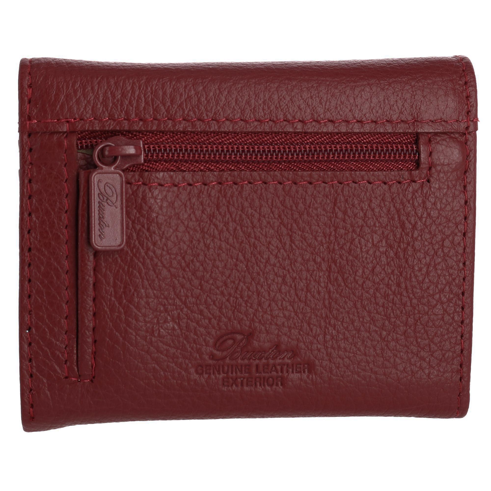New-Buxton-Women-039-s-Leather-Mini-Tri-Fold-Wallet thumbnail 14