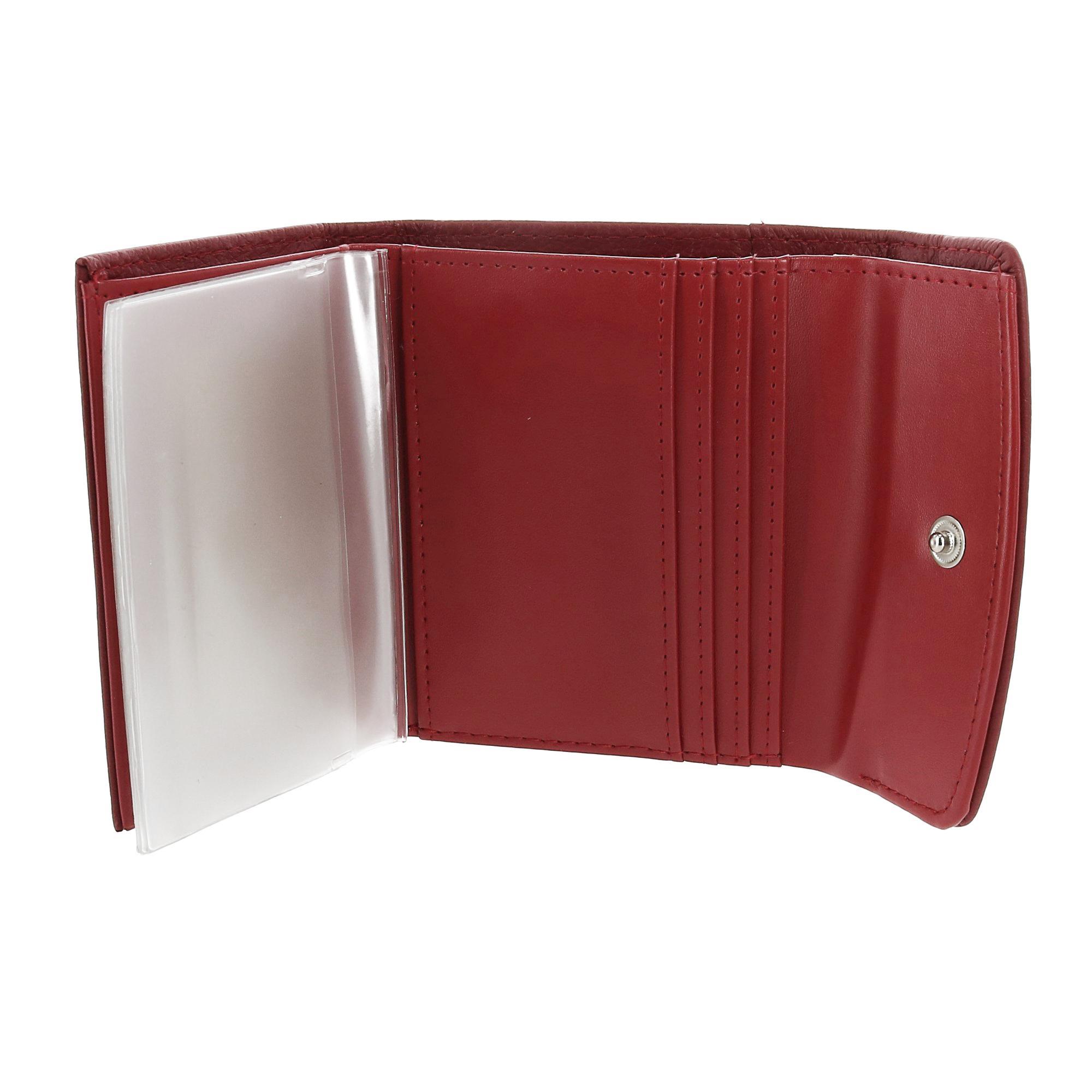 New-Buxton-Women-039-s-Leather-Mini-Tri-Fold-Wallet thumbnail 15