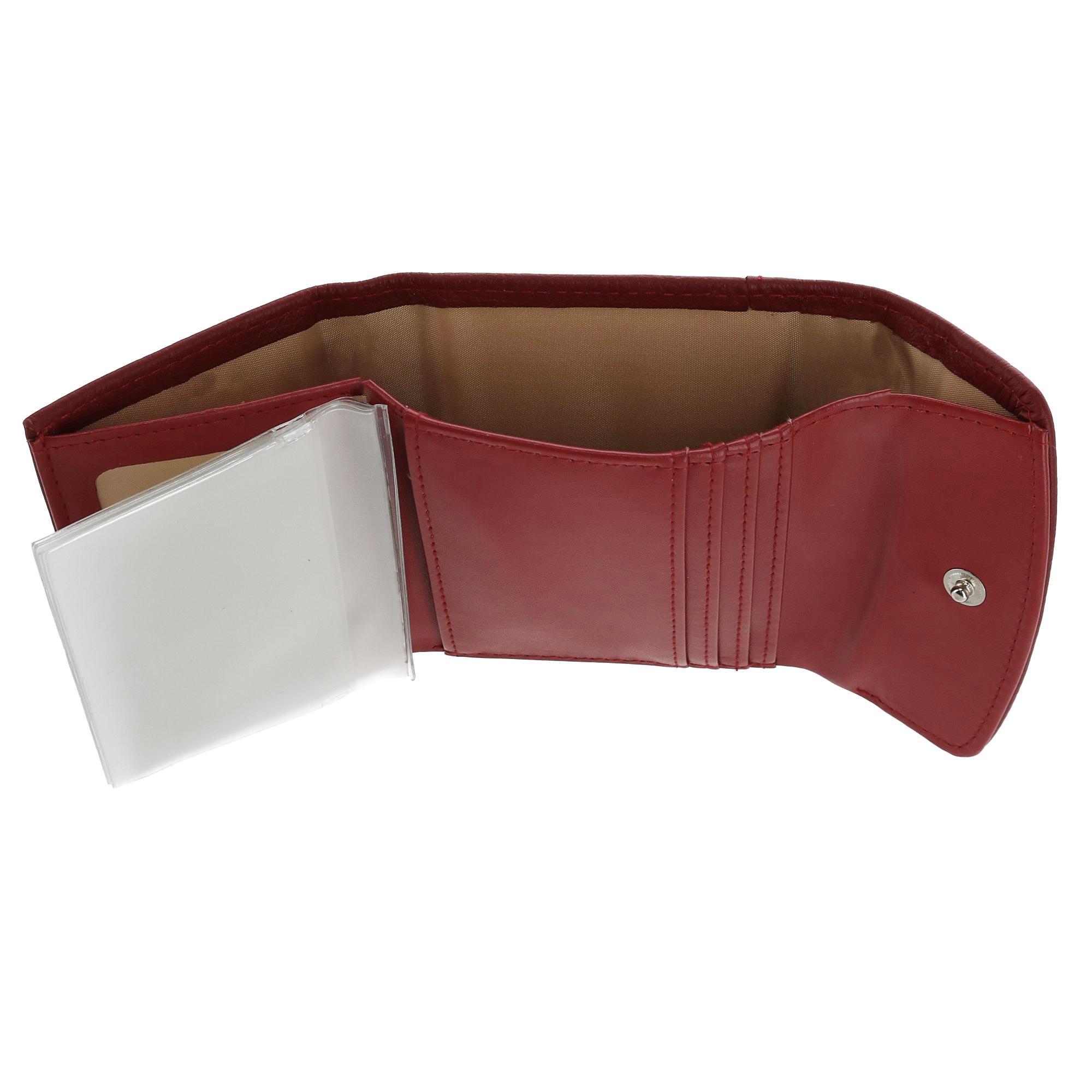 New-Buxton-Women-039-s-Leather-Mini-Tri-Fold-Wallet thumbnail 16