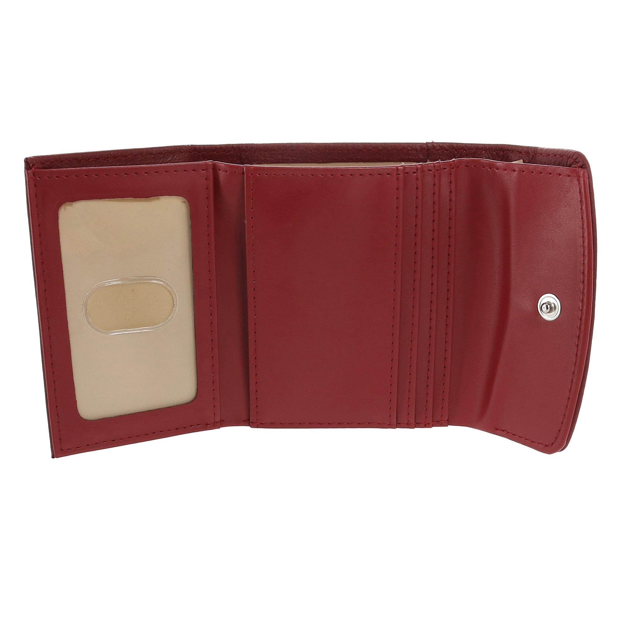 New-Buxton-Women-039-s-Leather-Mini-Tri-Fold-Wallet thumbnail 17