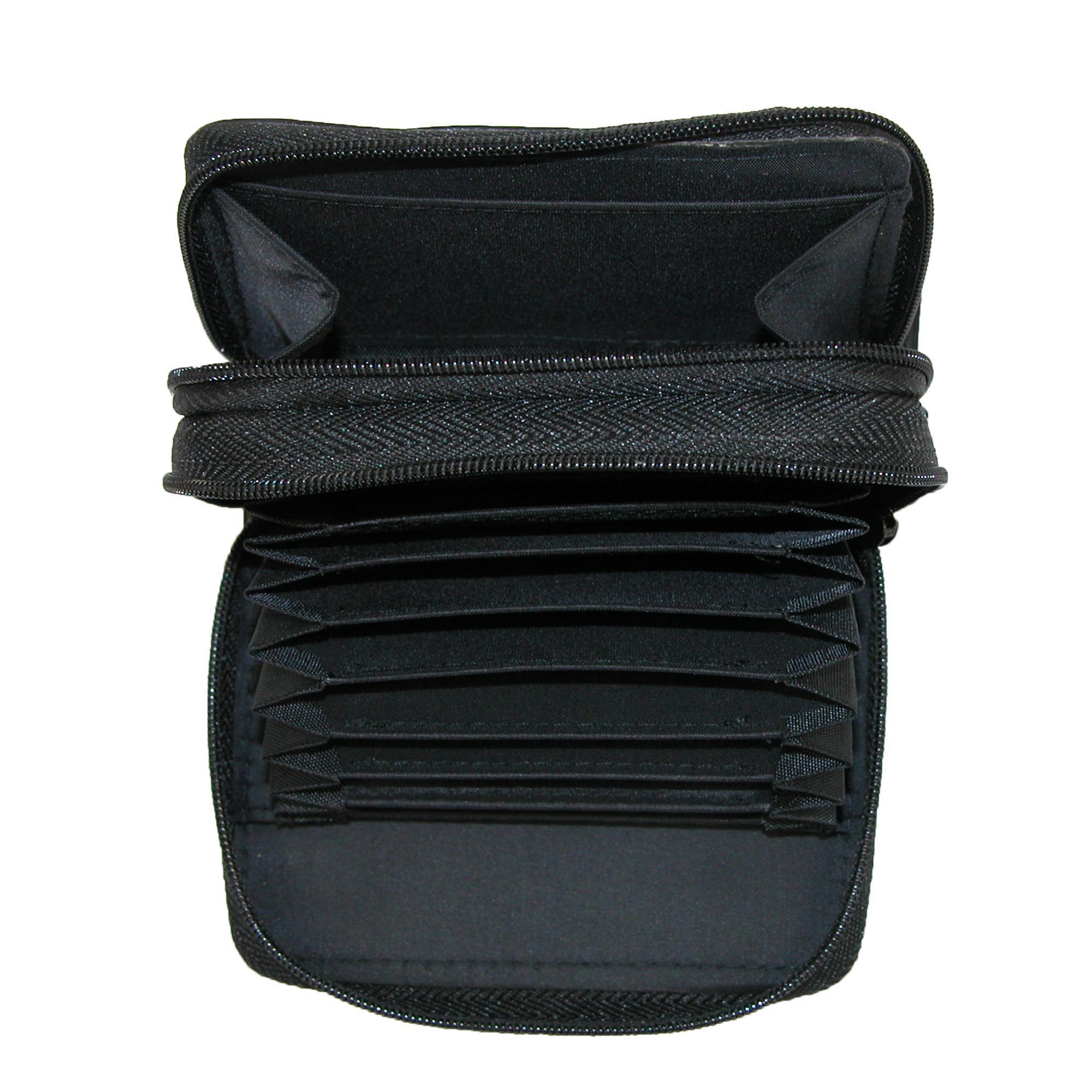 New-Buxton-Women-039-s-Leather-Mini-Accordion-Wizard-Wallet thumbnail 4