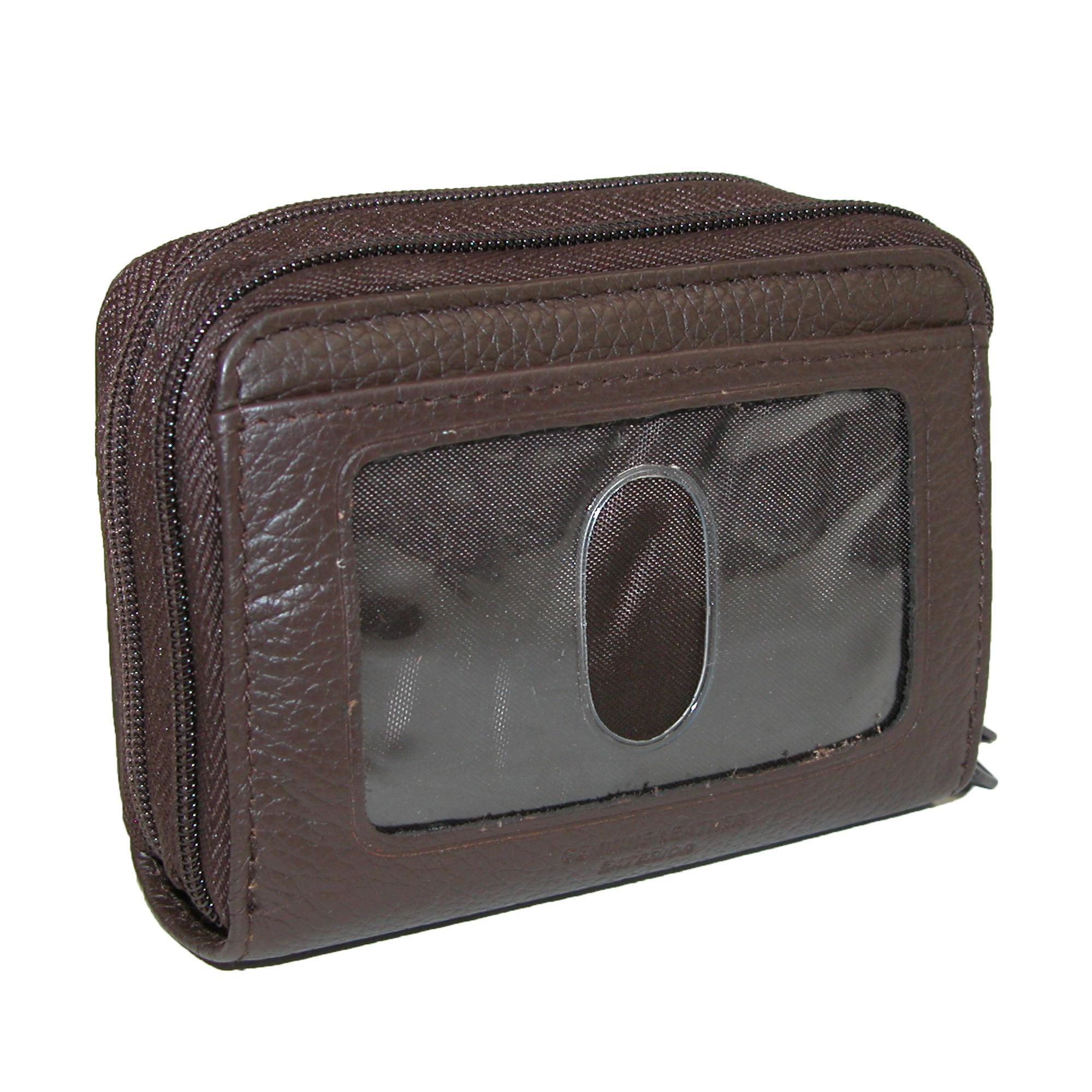 New-Buxton-Women-039-s-Leather-Mini-Accordion-Wizard-Wallet thumbnail 7