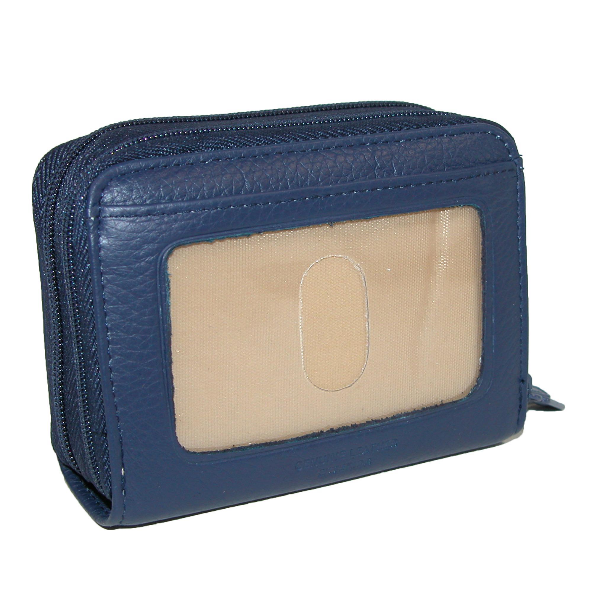 New-Buxton-Women-039-s-Leather-Mini-Accordion-Wizard-Wallet thumbnail 14