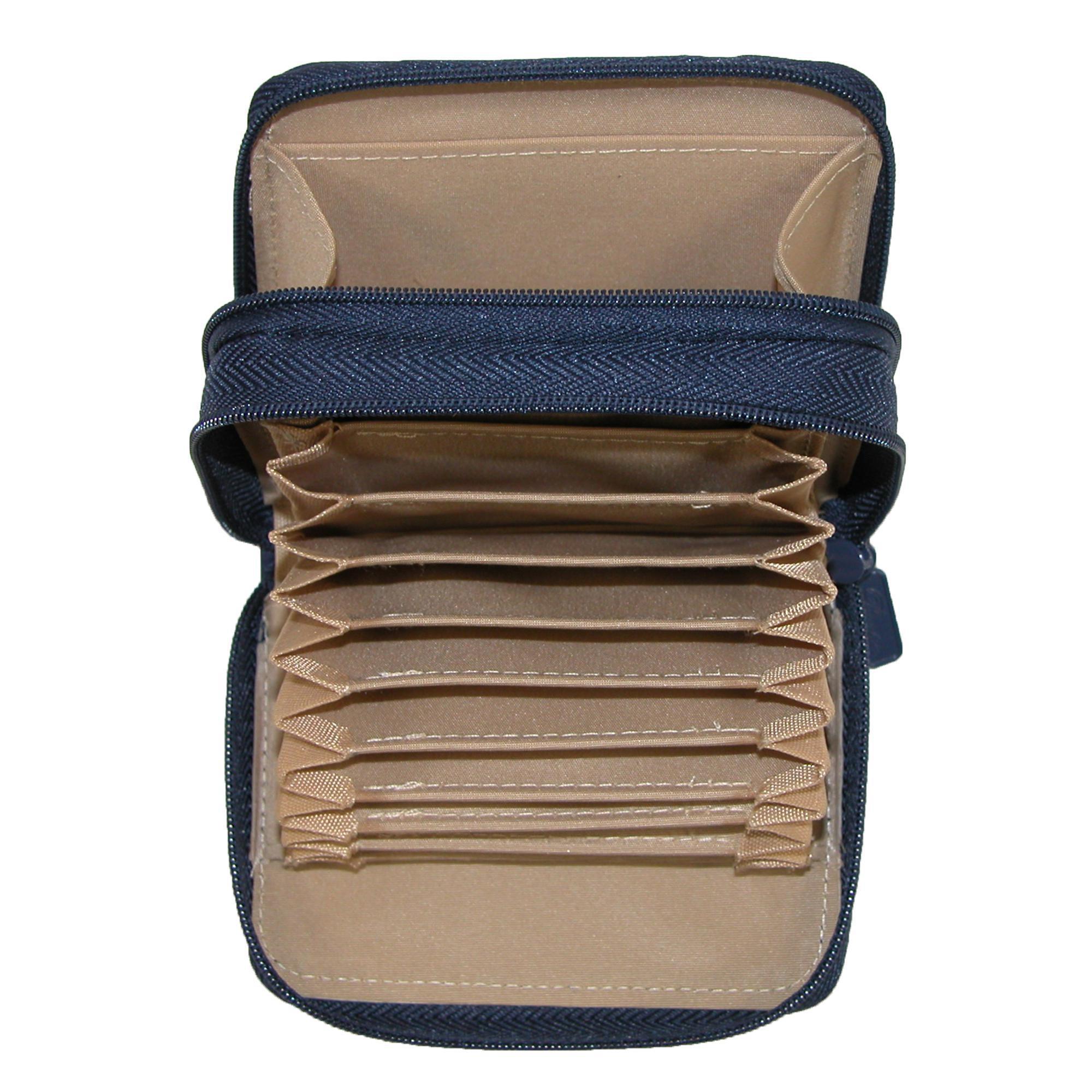 New-Buxton-Women-039-s-Leather-Mini-Accordion-Wizard-Wallet thumbnail 15