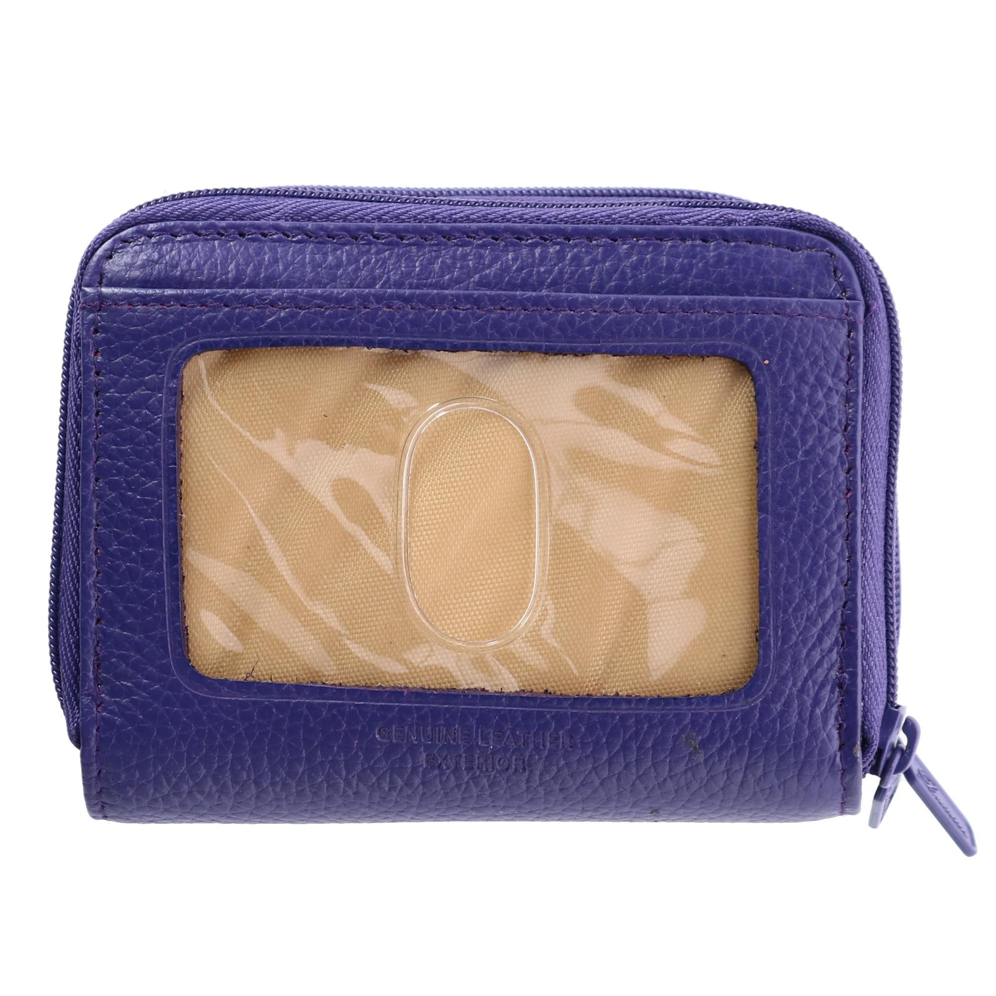 New-Buxton-Women-039-s-Leather-Mini-Accordion-Wizard-Wallet thumbnail 11