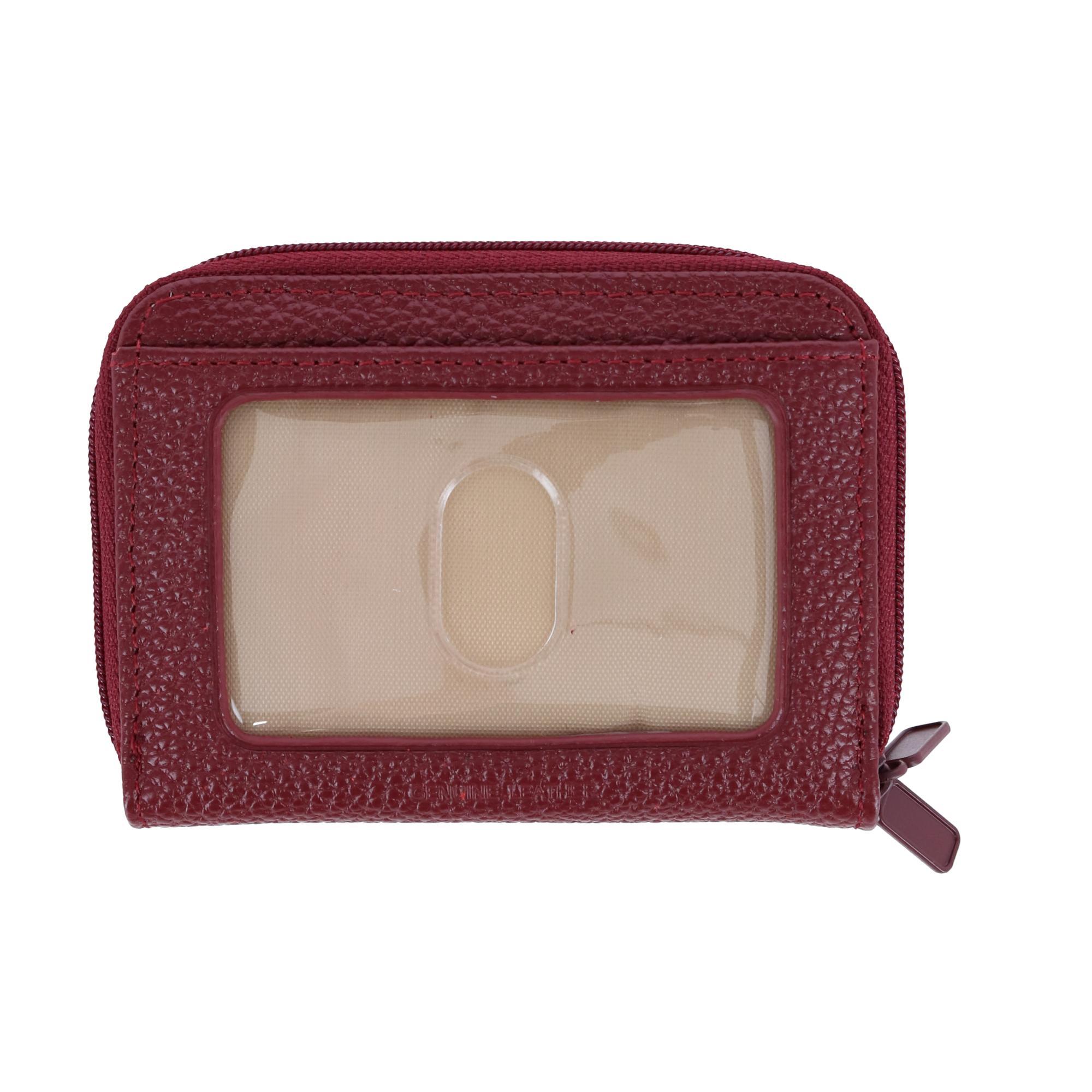 New-Buxton-Women-039-s-Leather-Mini-Accordion-Wizard-Wallet thumbnail 17