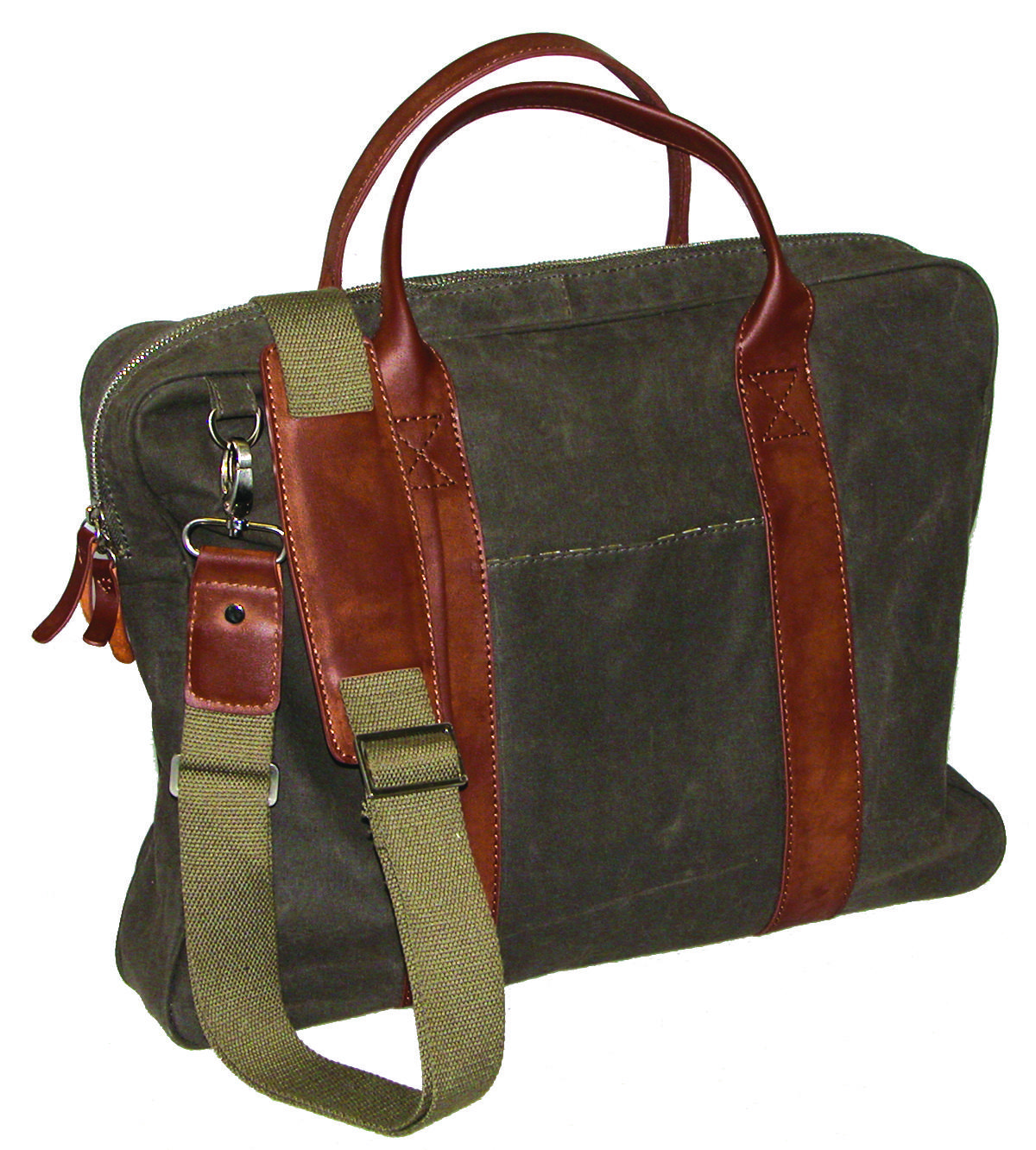 DOPP Men's Gear Canvas Laptop Briefcase