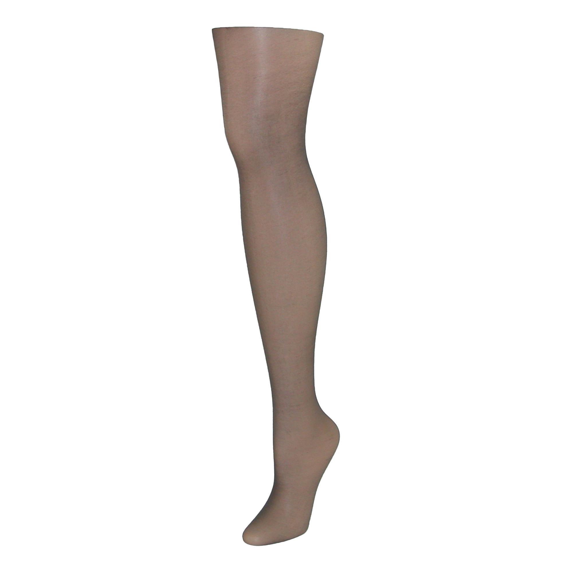 f4b0faf655866 Leggs Women's Nylon Run Resistant Sheer Control Top Pantyhose - Misty