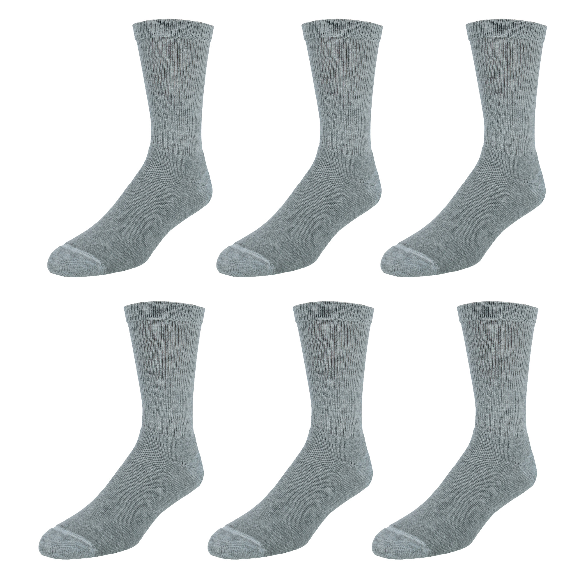 thumbnail 5 - New-Hanes-Men-039-s-Ultimate-ComfortSoft-Cotton-Blend-Crew-Casual-Socks-6-Pairs