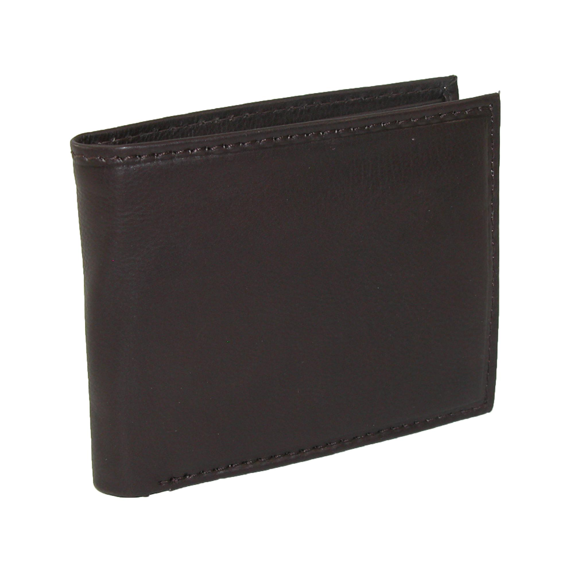 Paul_&_Taylor_Mens_Leather_with_Coin_Pocket_Bifold_Wallet_