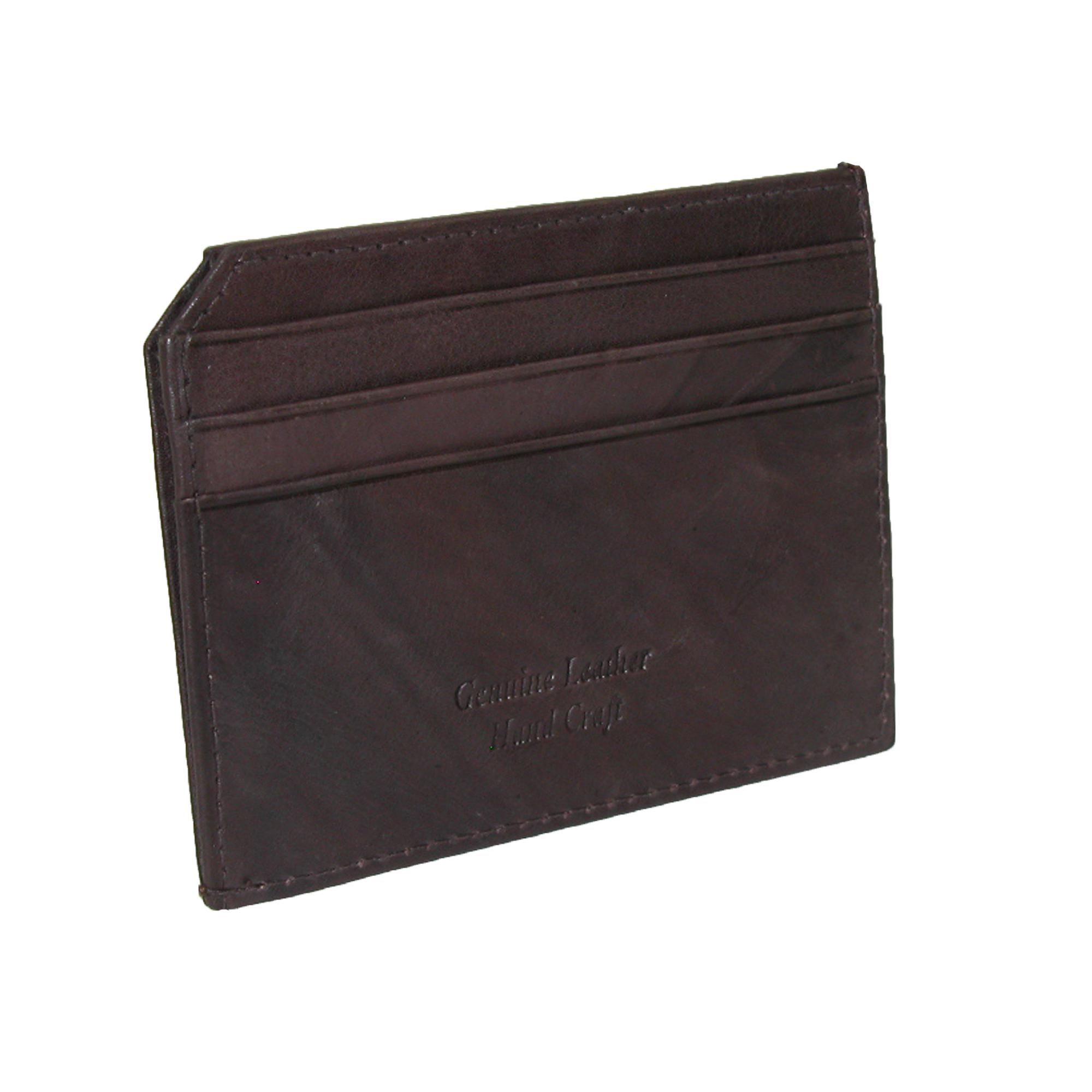Paul_&_Taylor_Men's_Leather_Slim_ID_Credit_Card_Wallet_-_Brown_one