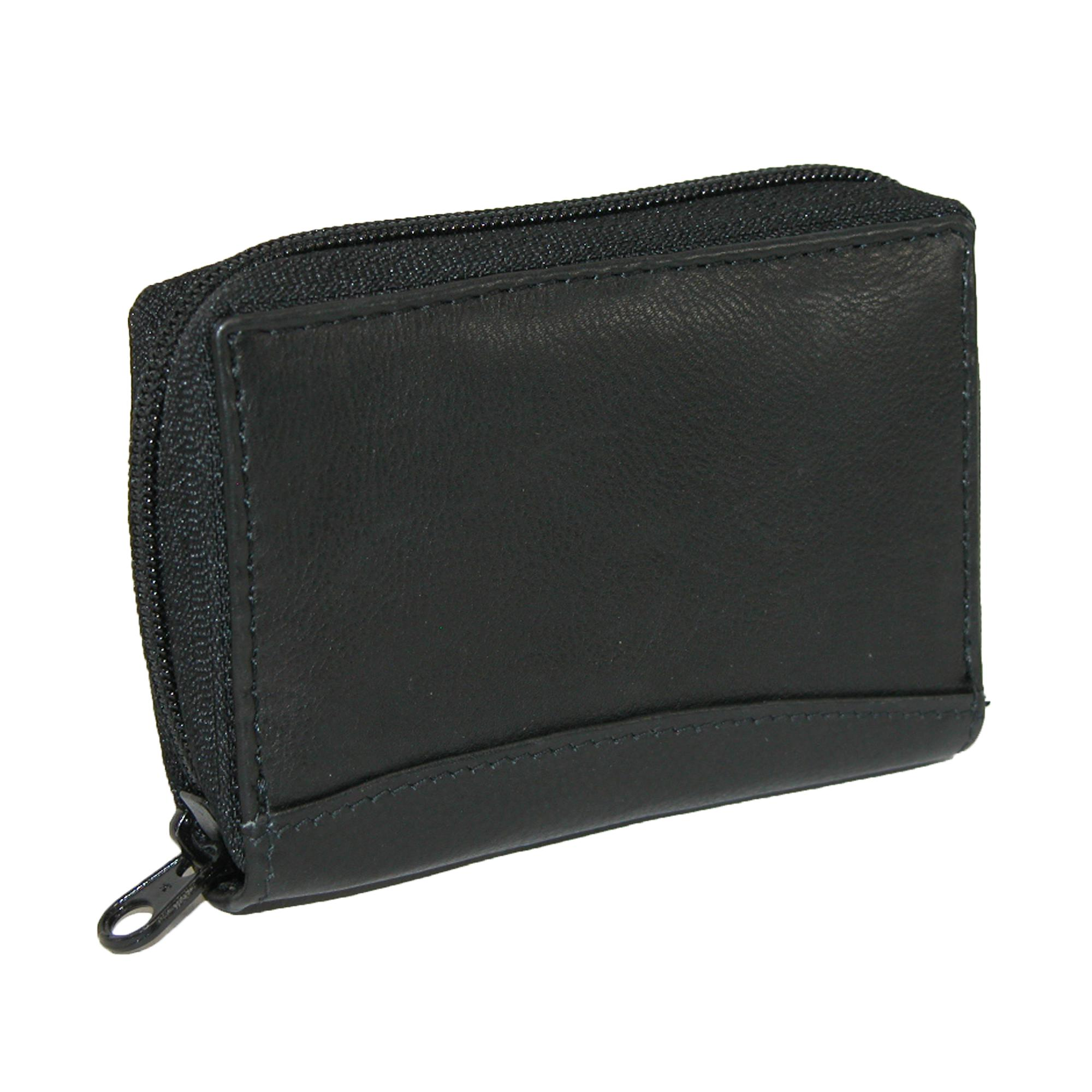 Paul_&_Taylor_Men's_Leather_Zip_Around_Accordion_Credit_Card_Wallet_-