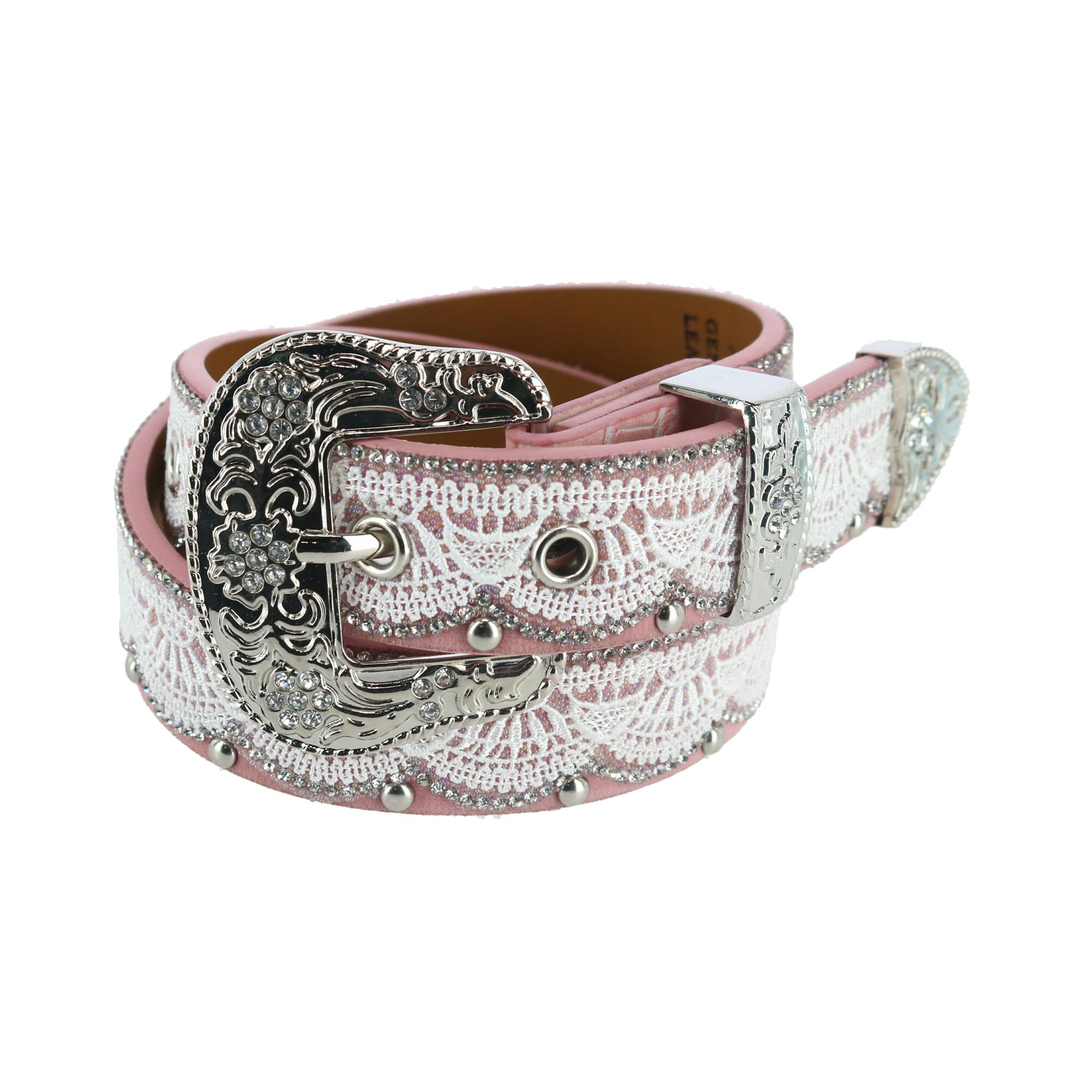New 3 D Belt Company Girl's Lace Look Belt