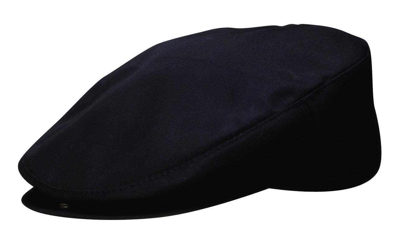 Dorfman Pacific Men's Cotton Poplin Woven Ivy Cap with Adjustable Backstrap