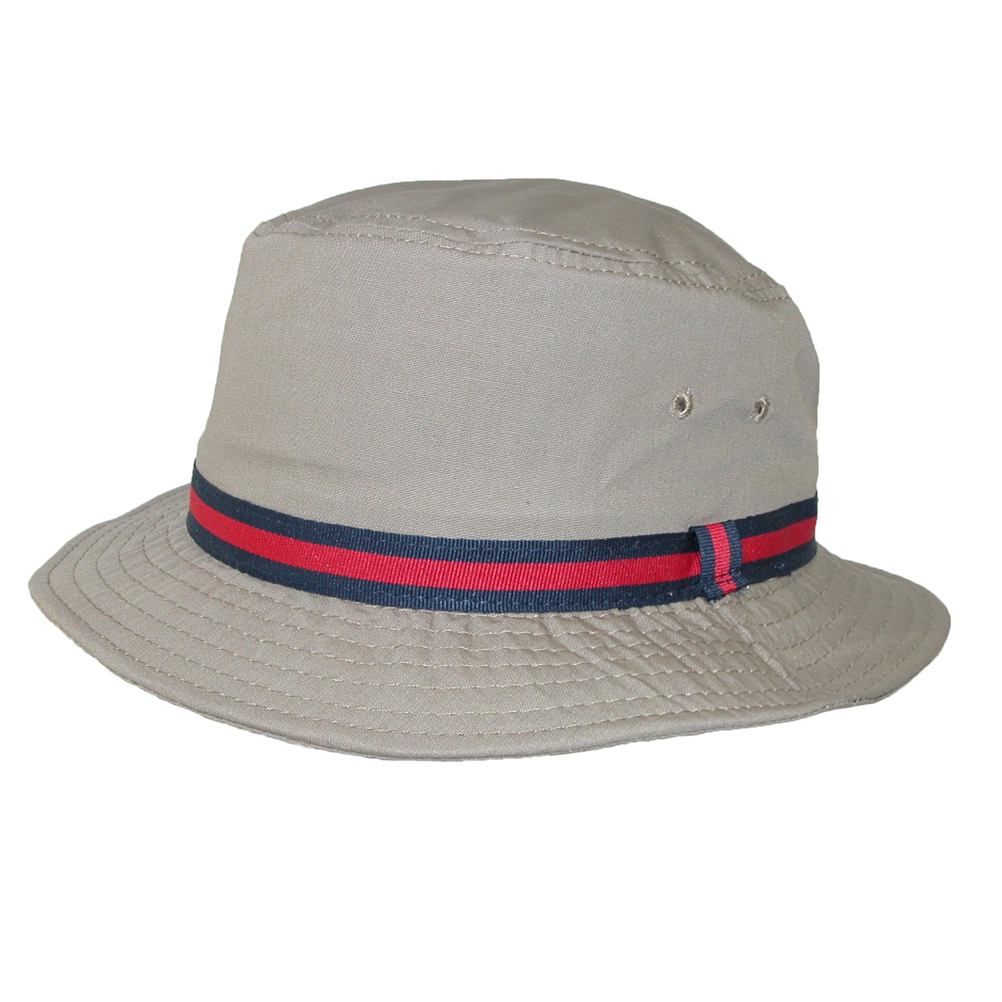 Dorfman_Pacific_Cotton_Water_Repellent_Traditional_Rain_Bucket_Hat_