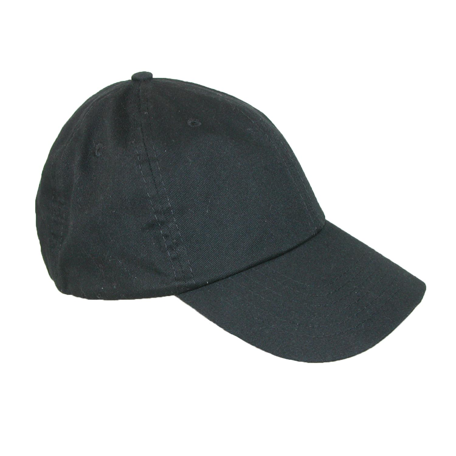 Dorfman_Pacific_Classic_Cotton_Basic_Solid_Sports_Baseball_Cap_-_Black