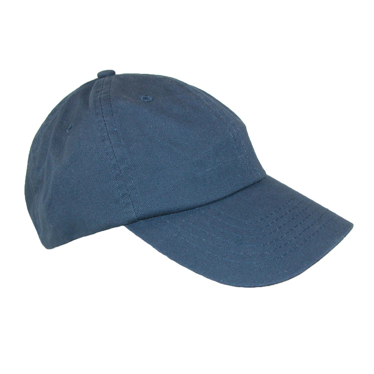 Dorfman_Pacific_Classic_Cotton_Basic_Solid_Sports_Baseball_Cap_-_Navy