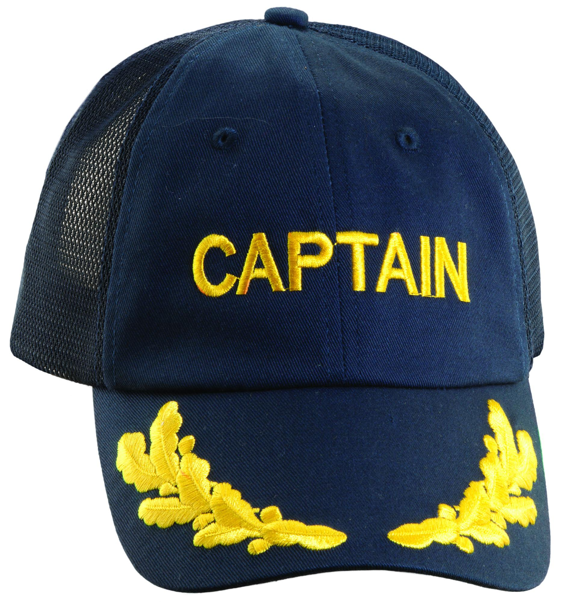 cf290372f77 Dorfman Pacific Twill Captain Sailing and Nautical Baseball Cap