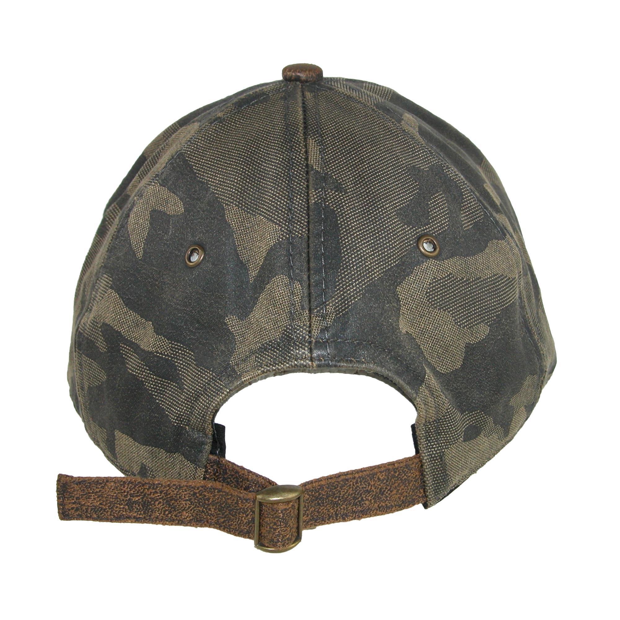DPC Outdoor Design DPC Outdoor Design Men s Cotton Antique T-Slide Camo Baseball  Cap 1 7e06ec2429e