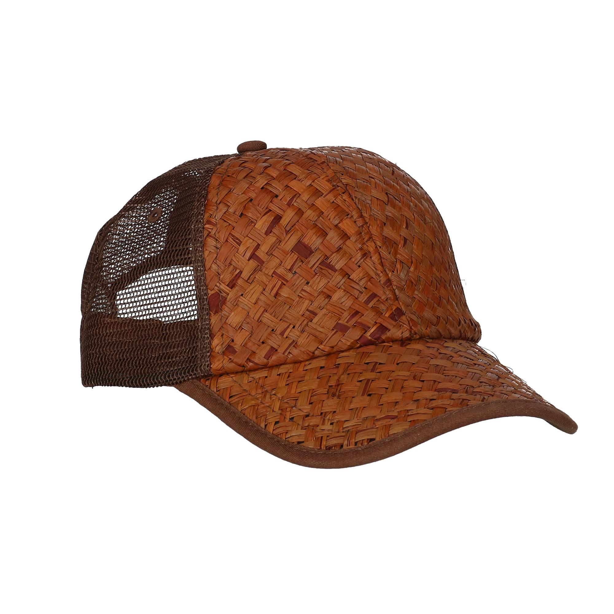 New DPC Outdoor Design Men s Structured Raffia Baseball Cap with ... a6dd755dd3e