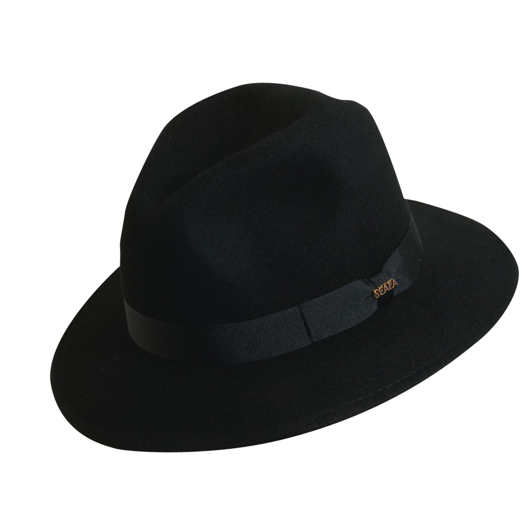 6b51b0cc5e3 Scala Classico Men s 100% Wool Crushable Safari Hat