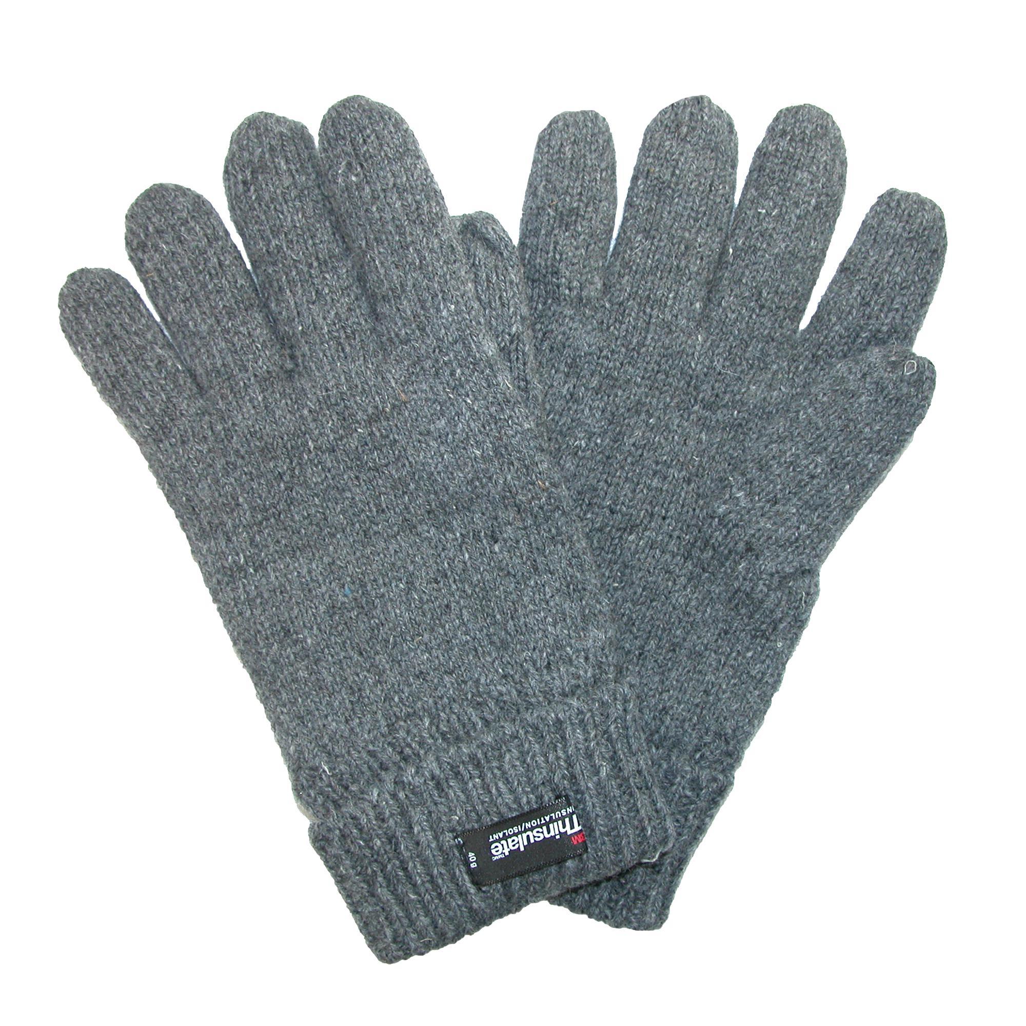 Dorfman Pacific Womens Rag Wool Gloves