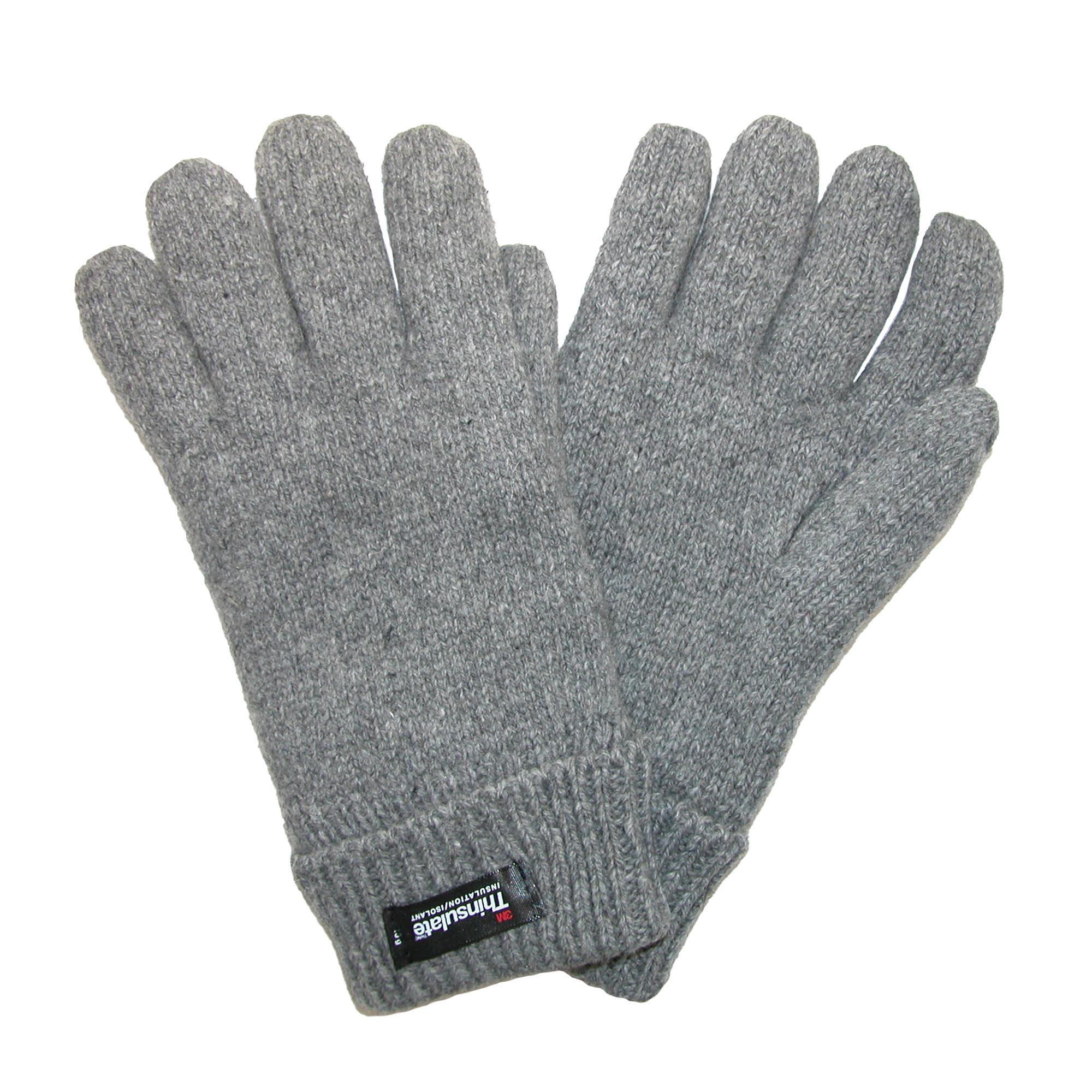 Dorfman Pacific Womens Rag Wool Gloves