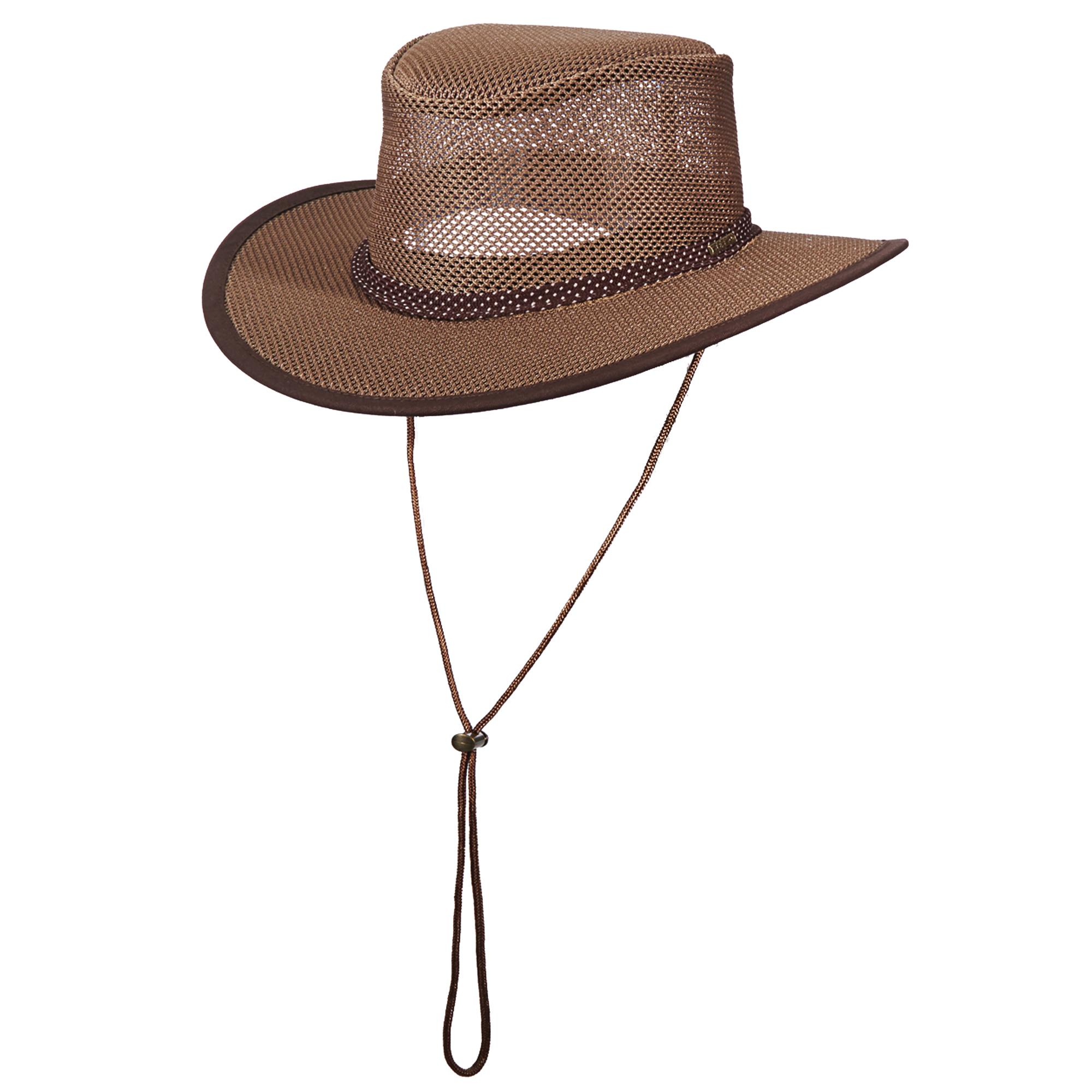 ee6845c25a9 Stetson Outback Meshed Safari Hat Walnut Stc205-wlnt Large