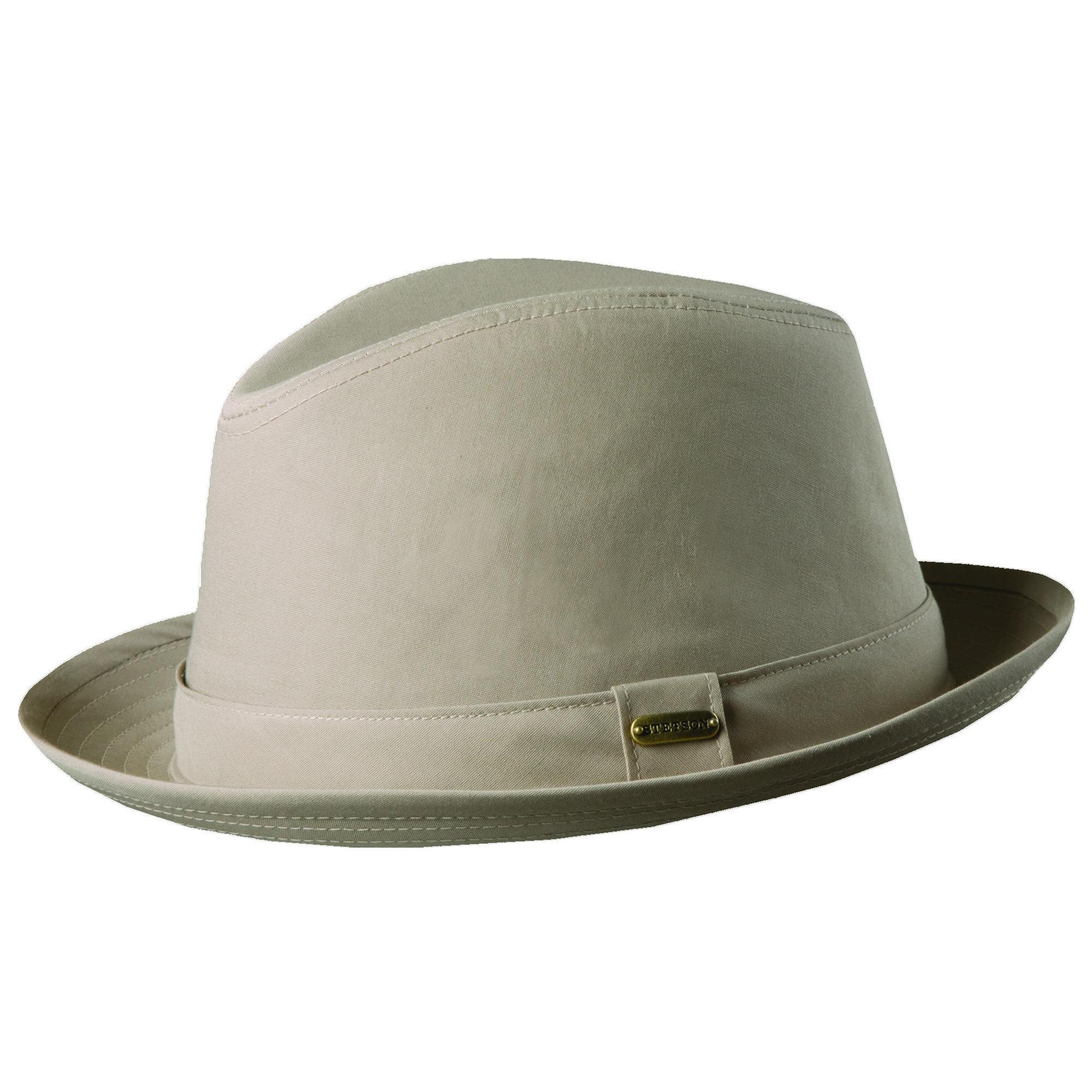 c97c60181ab4d Stetson Men s Cotton Blend Water Repellent Fedora Hat