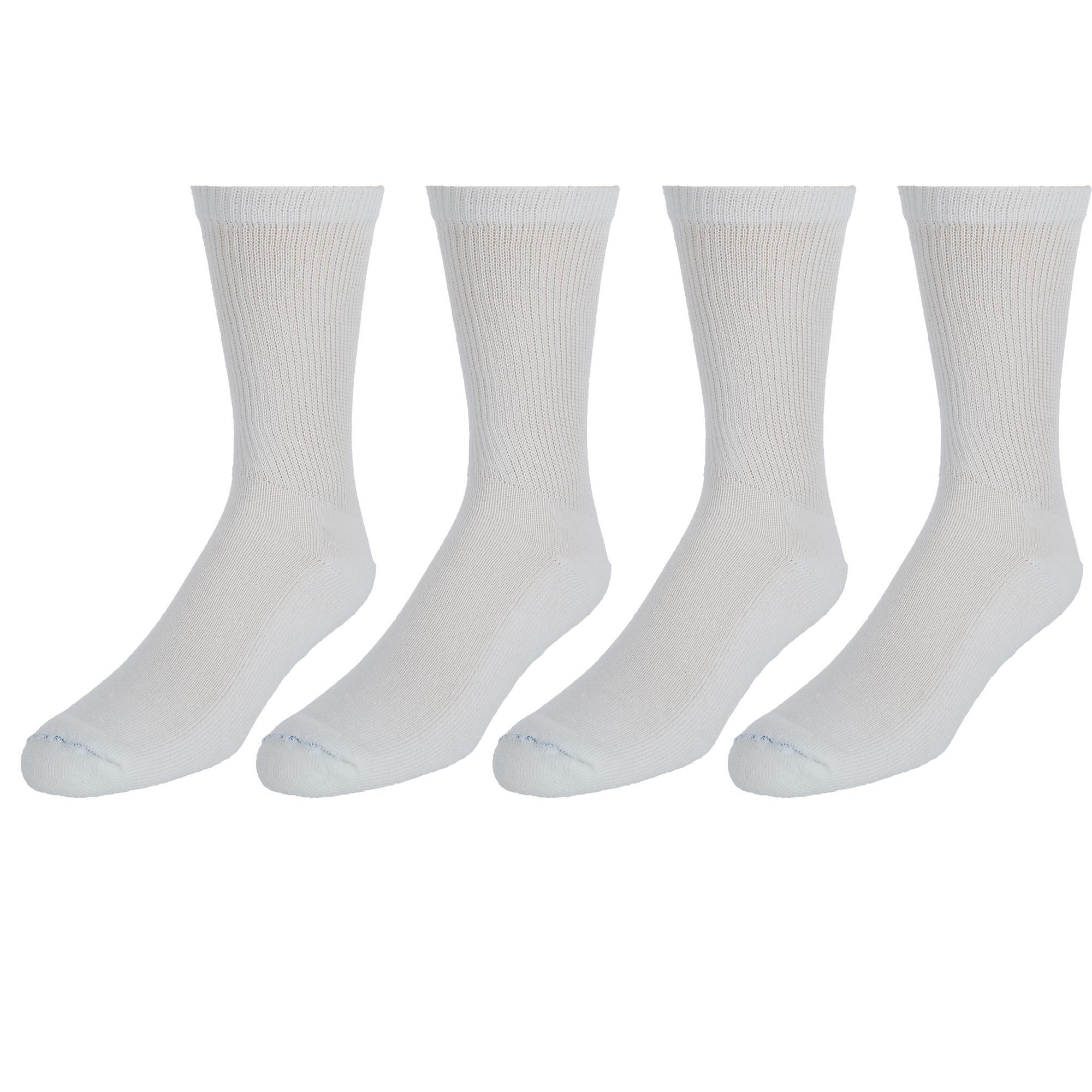 New-Dr-Scholls-Men-039-s-Diabetic-Circulatory-Crew-Socks-4-Pair-Pack miniature 5
