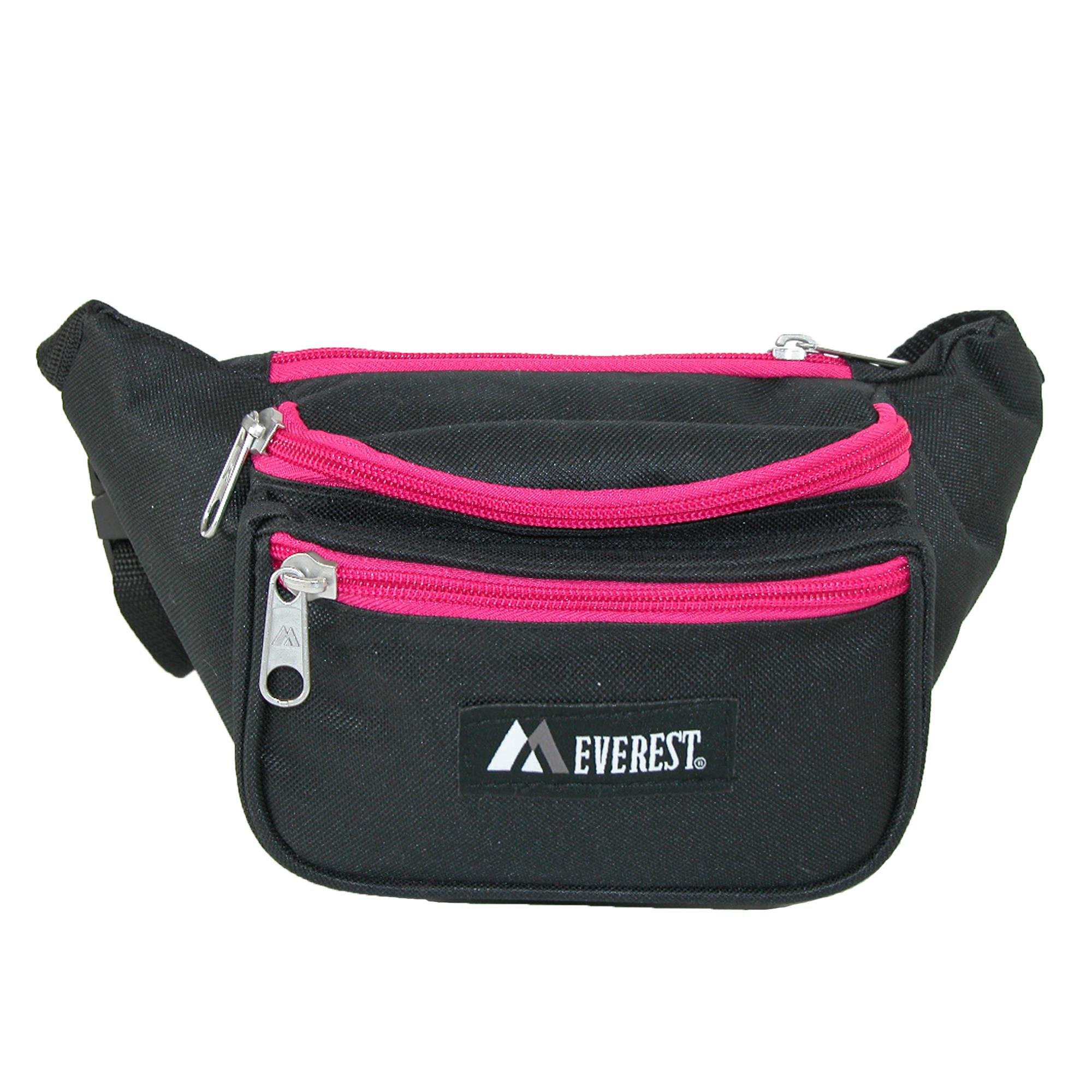 Everest_Fabric_Multi_Pocket_Fanny_Waist_Pack_-