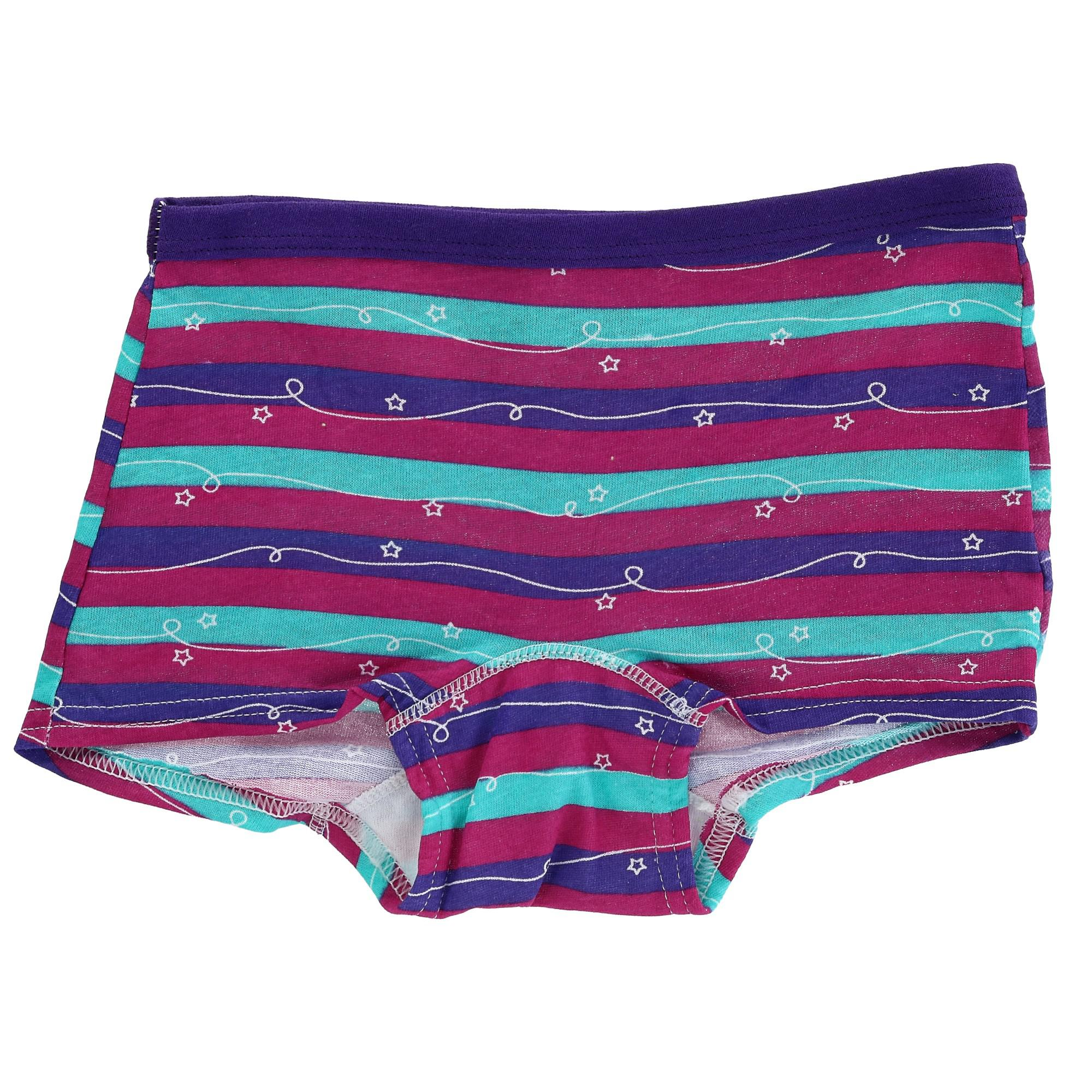 4d56c7d1f Details about New Fruit of the Loom Girl s Boy Short Underwear (8 Pair Pack)