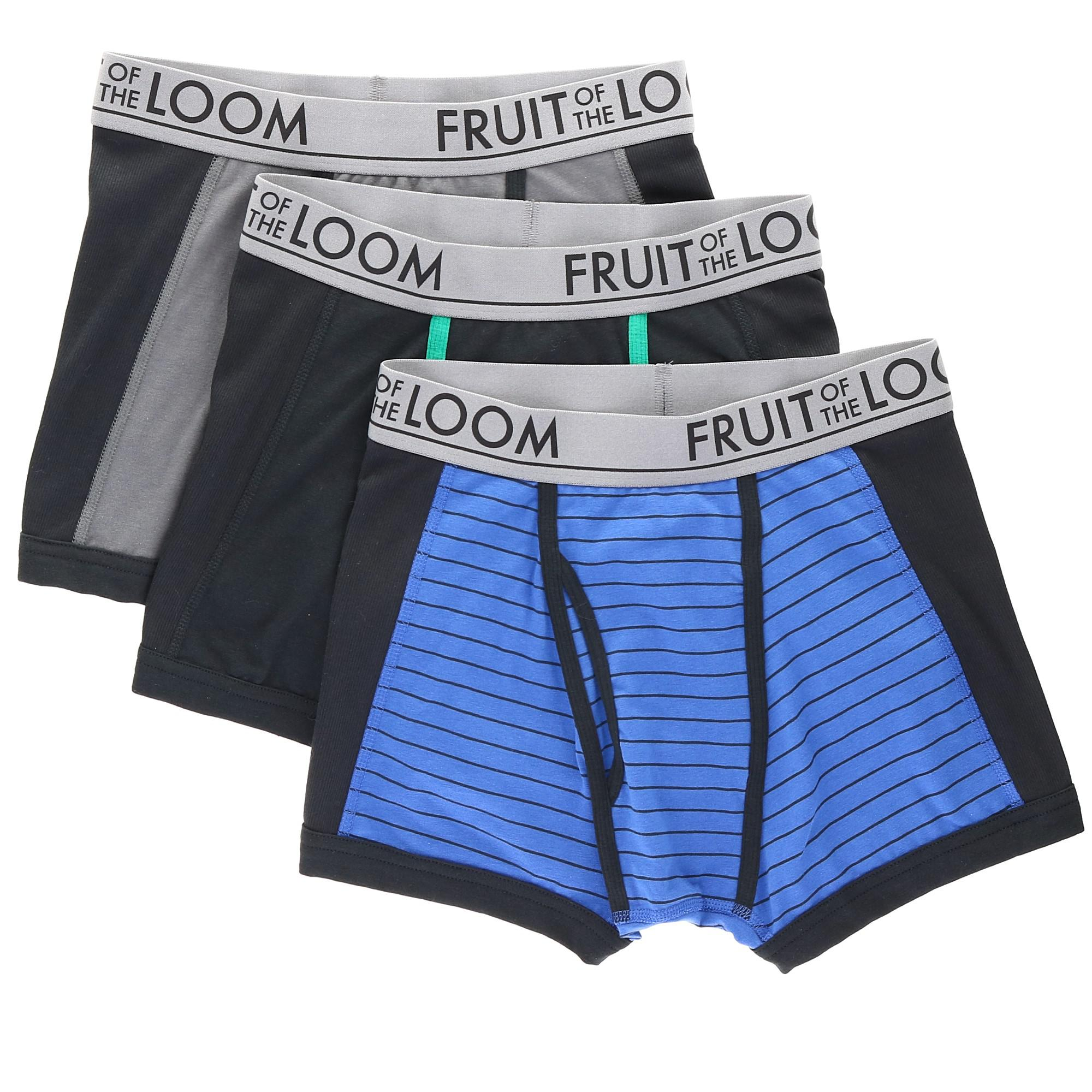 210b664c147ee1 Details about New Fruit of the Loom Men's Short Leg Ultra Flex Boxer Brief (3  Pack)