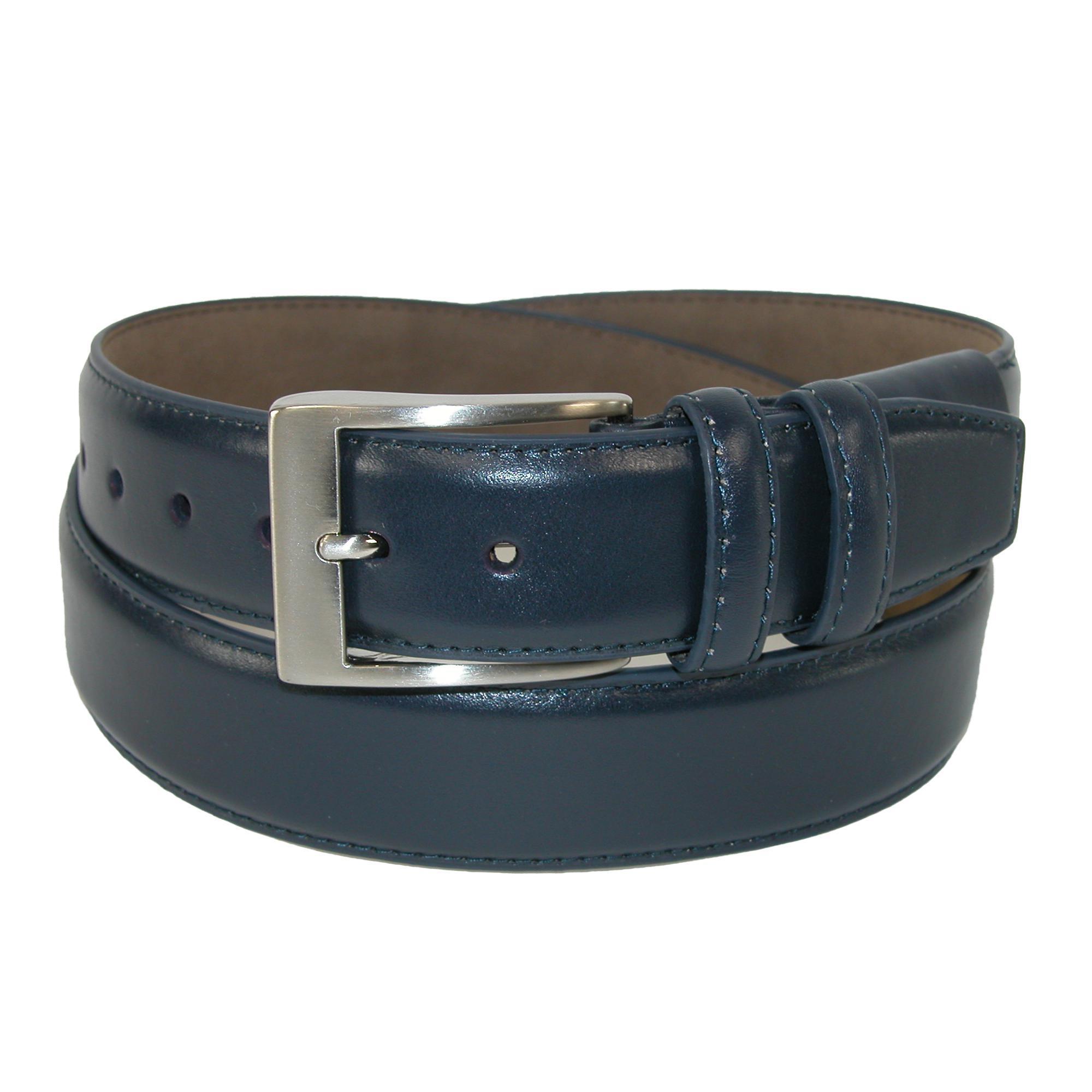 Pga Mens Hidden Stretch Basic Leather Dress Belt