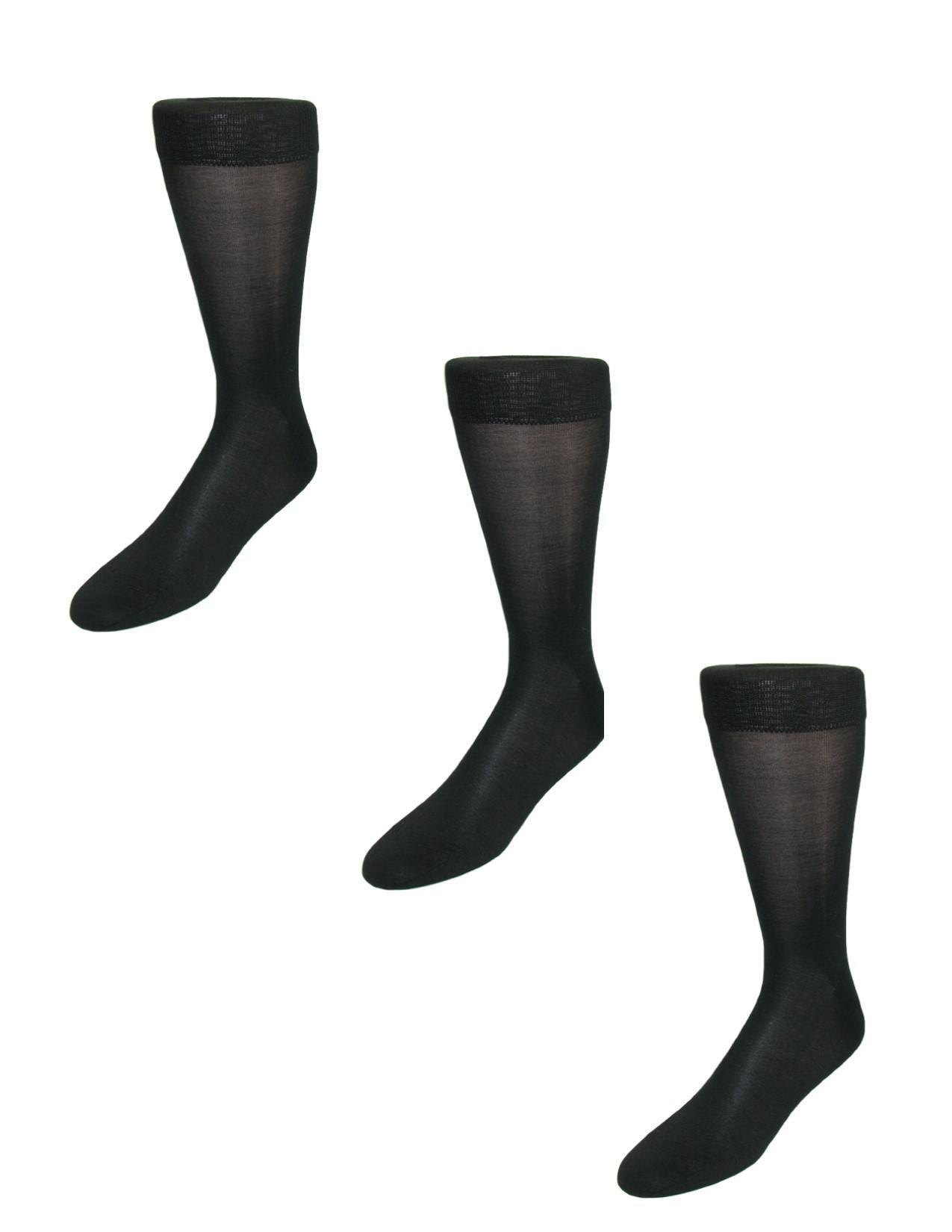 Windsor_Collection_Mens_Silk_Mid_Calf_Dress_Socks_Pack_of_3_
