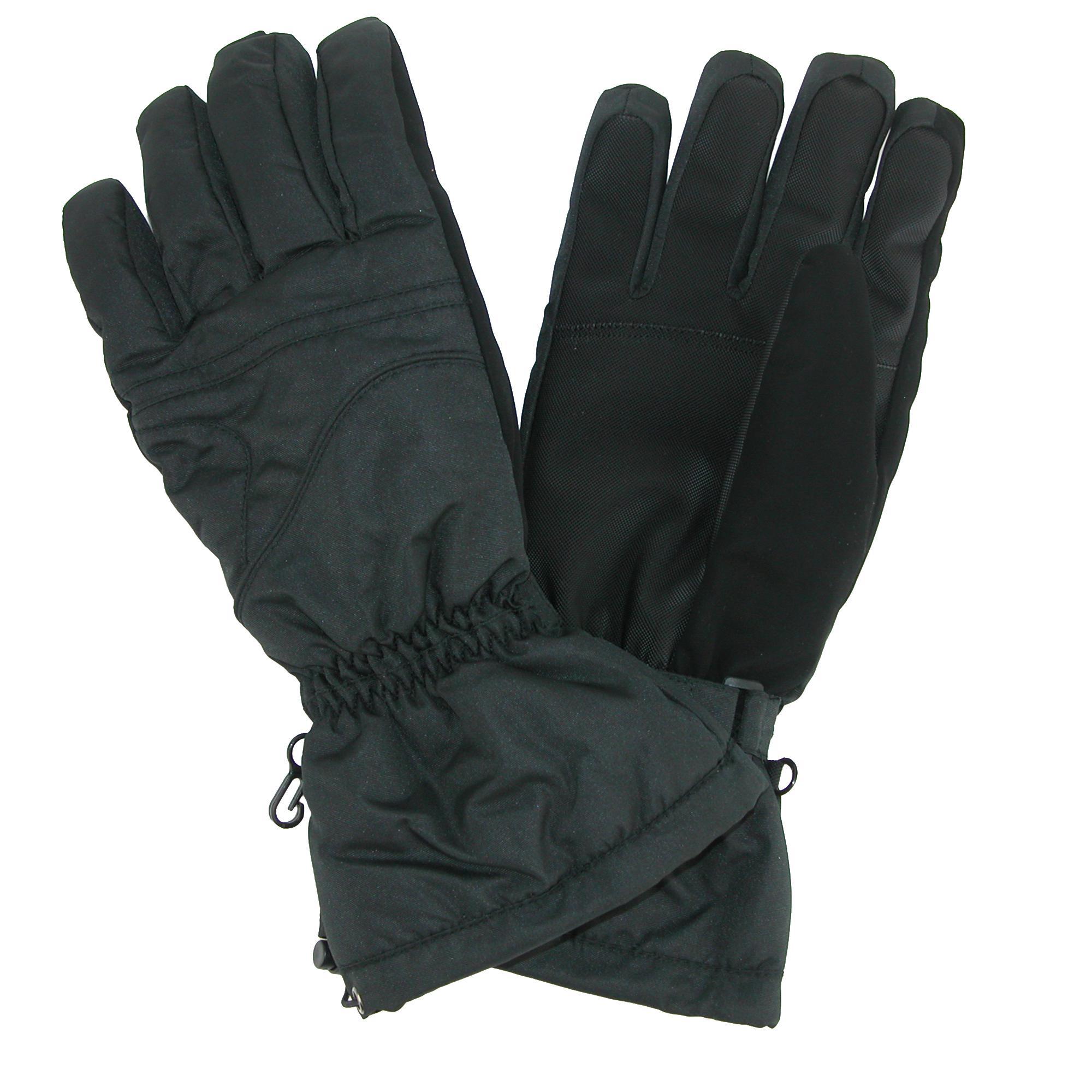 CTM Men's Long Cuff Ski Glove