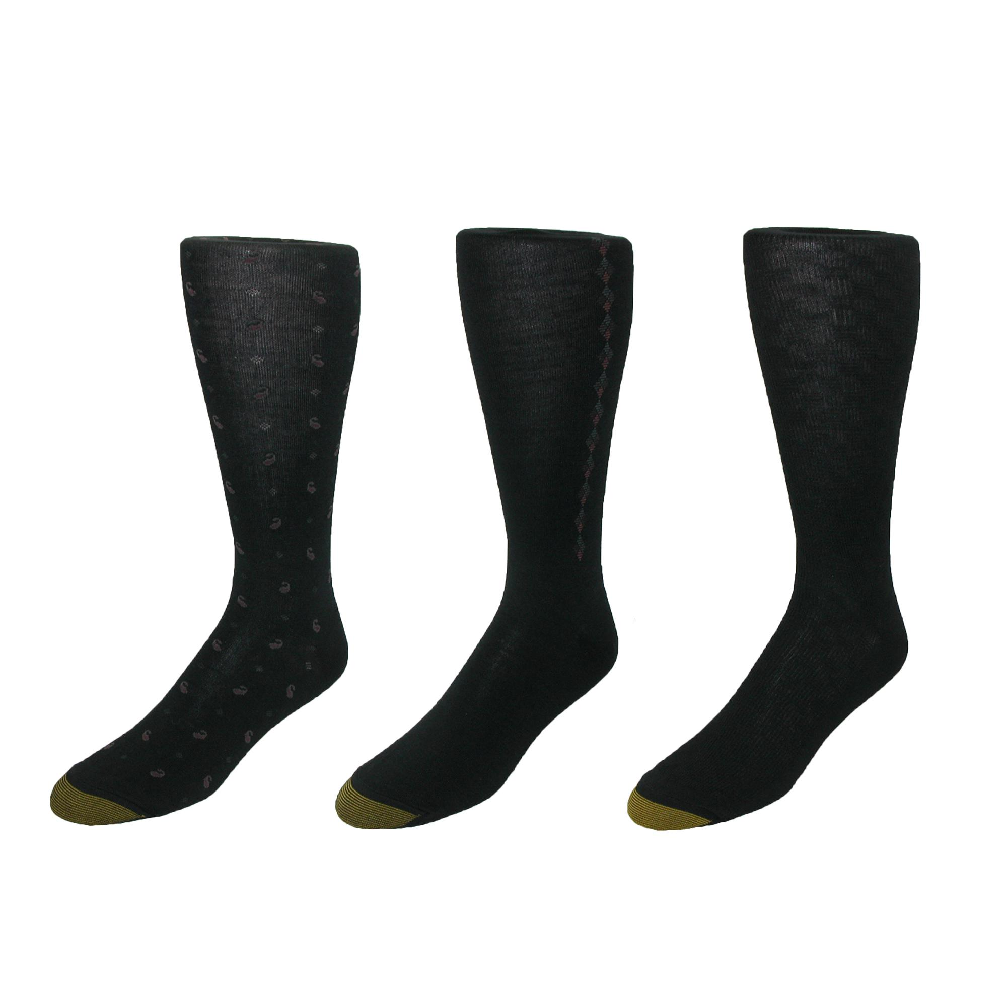 Gold_Toe_Men's_Over_the_Calf_Dress_Sock_(Pack_of_3)_-_Black_one_size