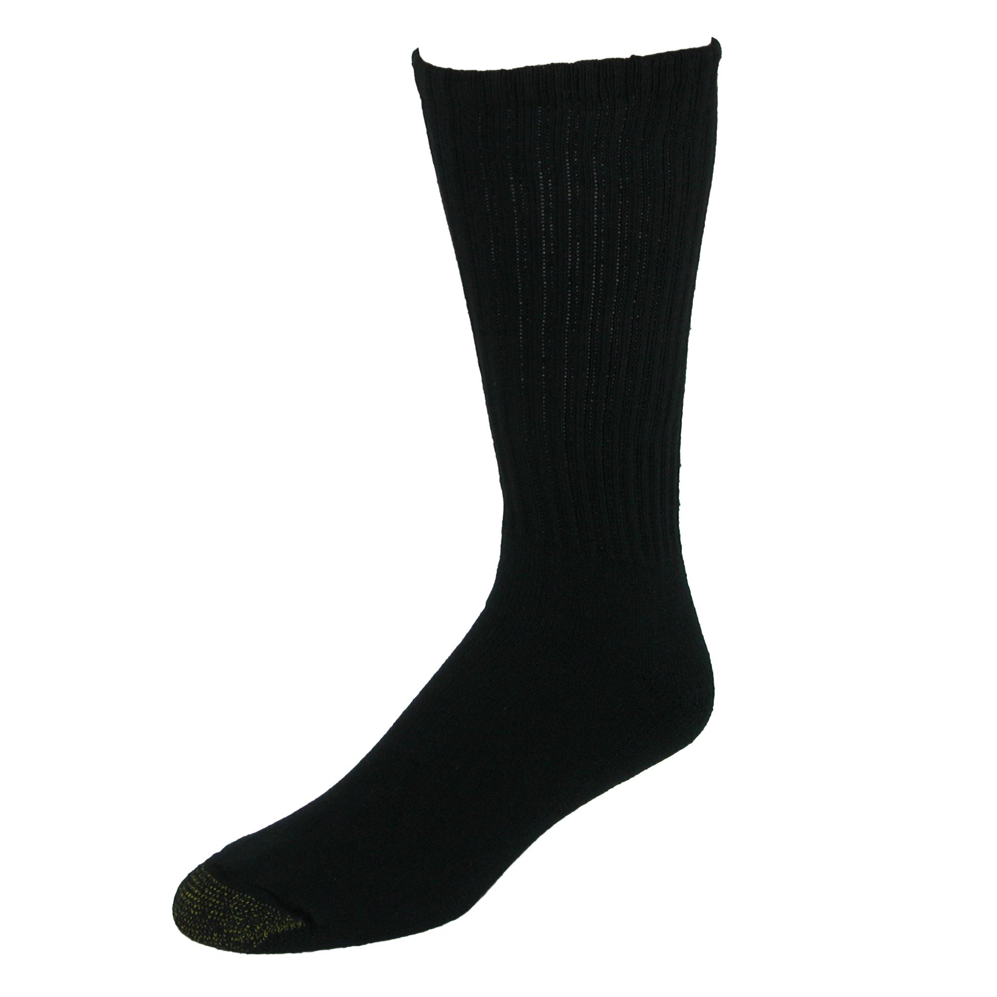 Gold Toe Mens Ultra Tec Crew Socks (3 Pair Pack)