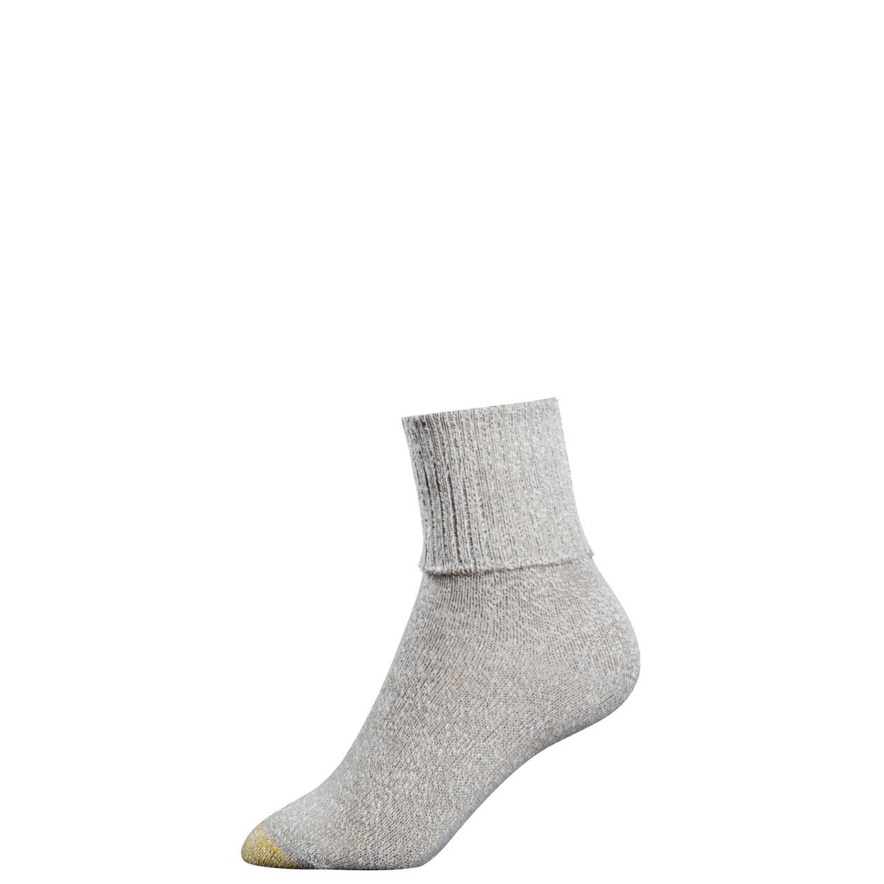 New Gold Toe Women's Cotton Turn Cuff Ankle Socks | eBay