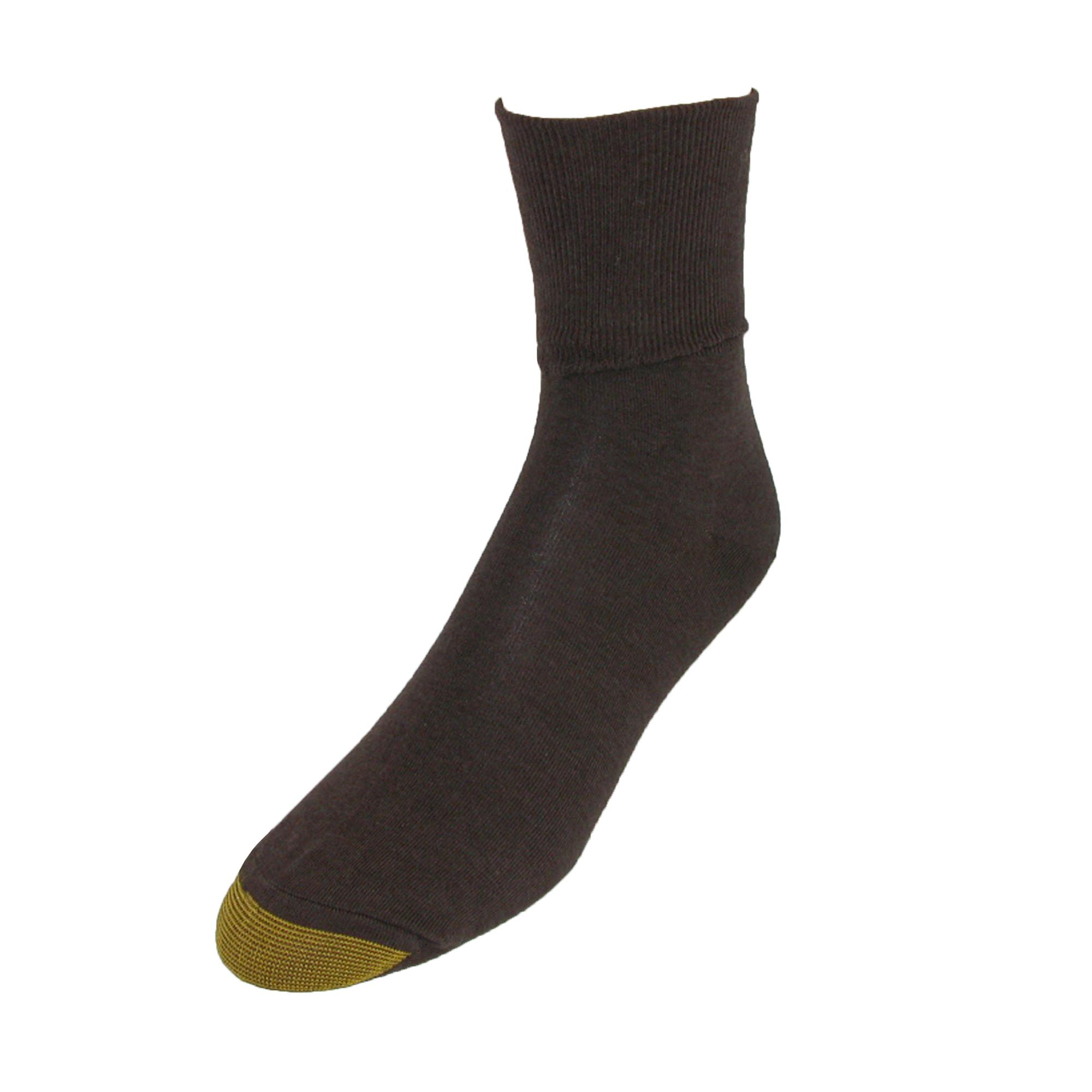 New Gold Toe Women's Cotton Plus Size Turn Cuff Ankle ...