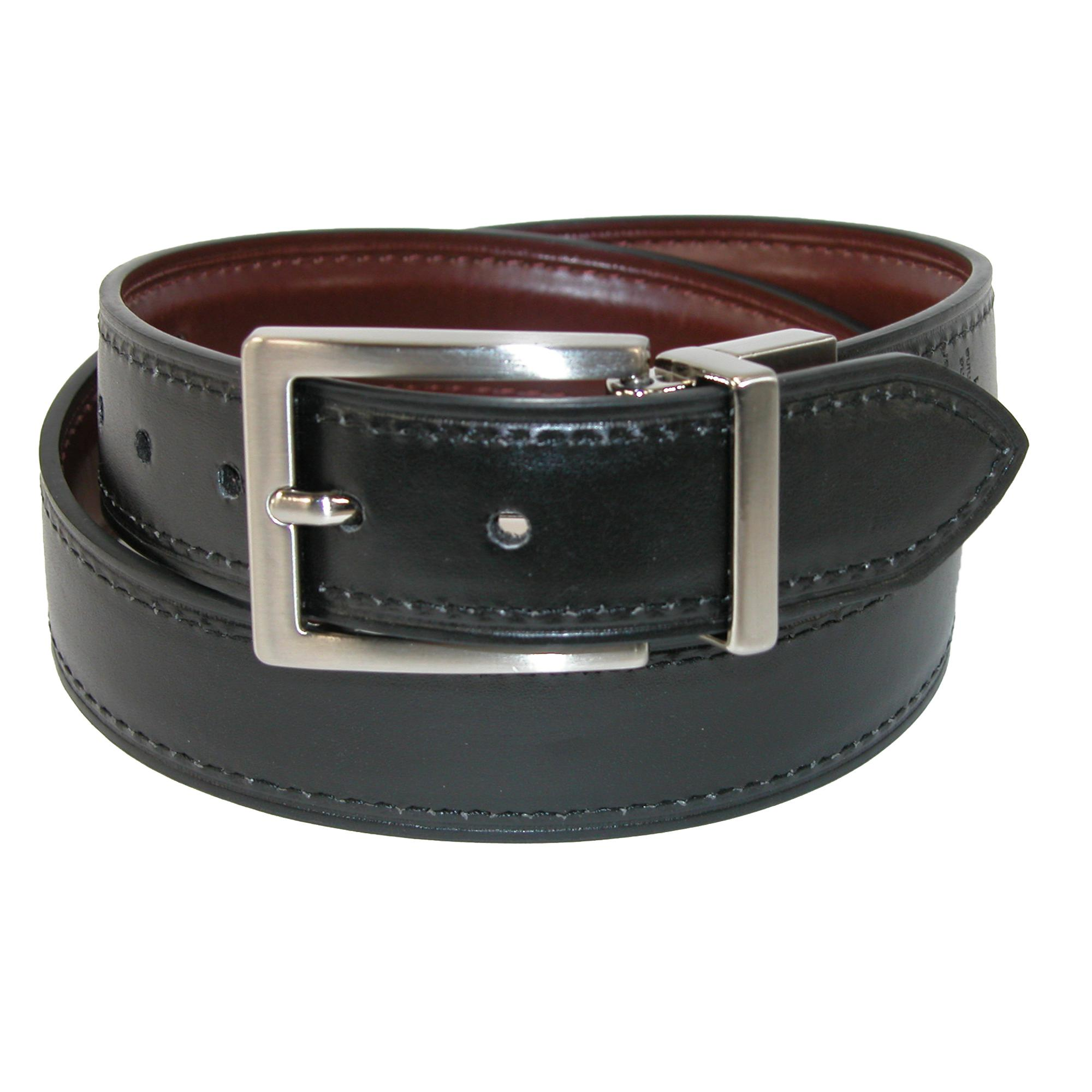 Details about New Dickies Boy's Feather Edge Reversible Dress Belt