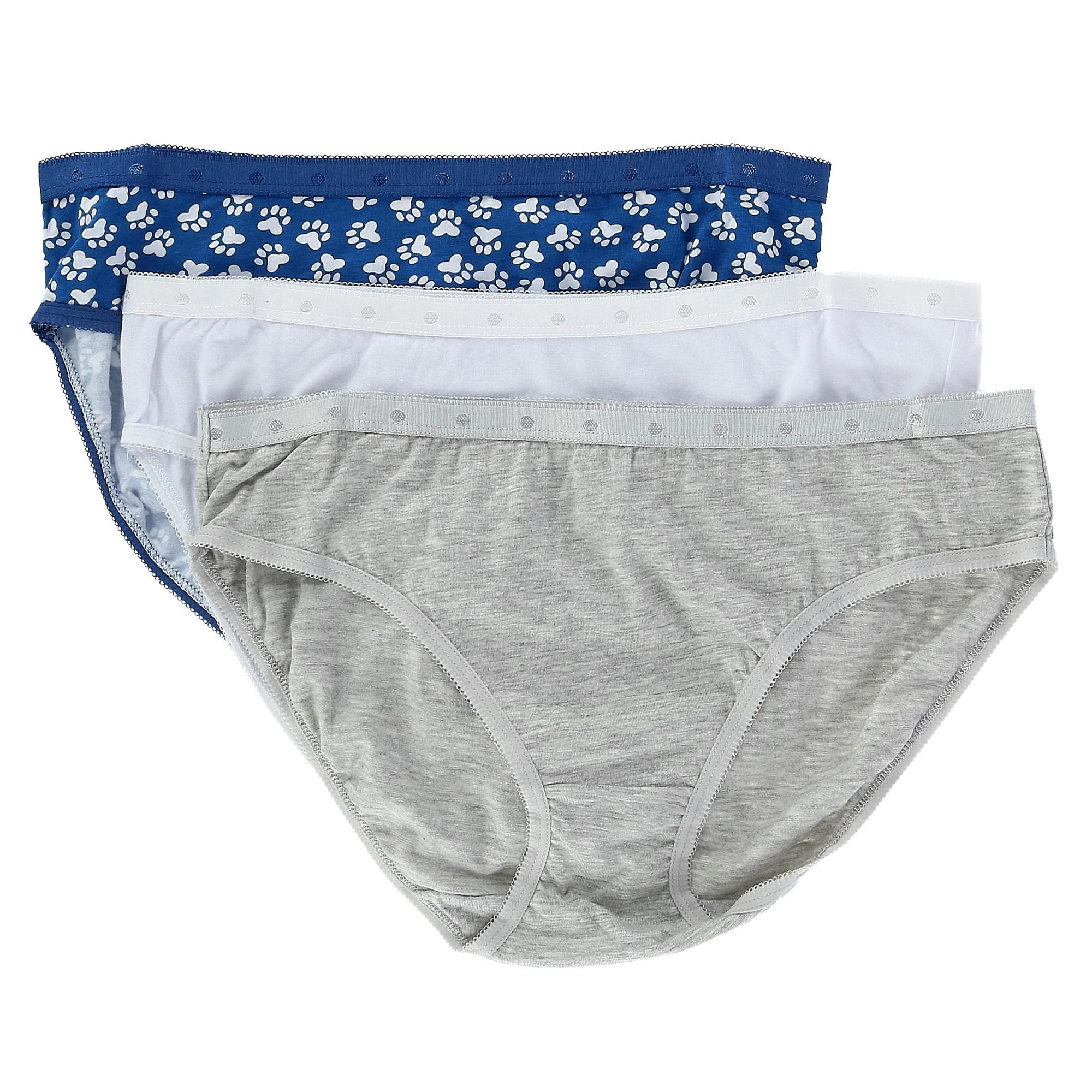 e6f240c0d59 New Rene Rofe Women s Novelty Bikini Underwear (3 Pair Pack)