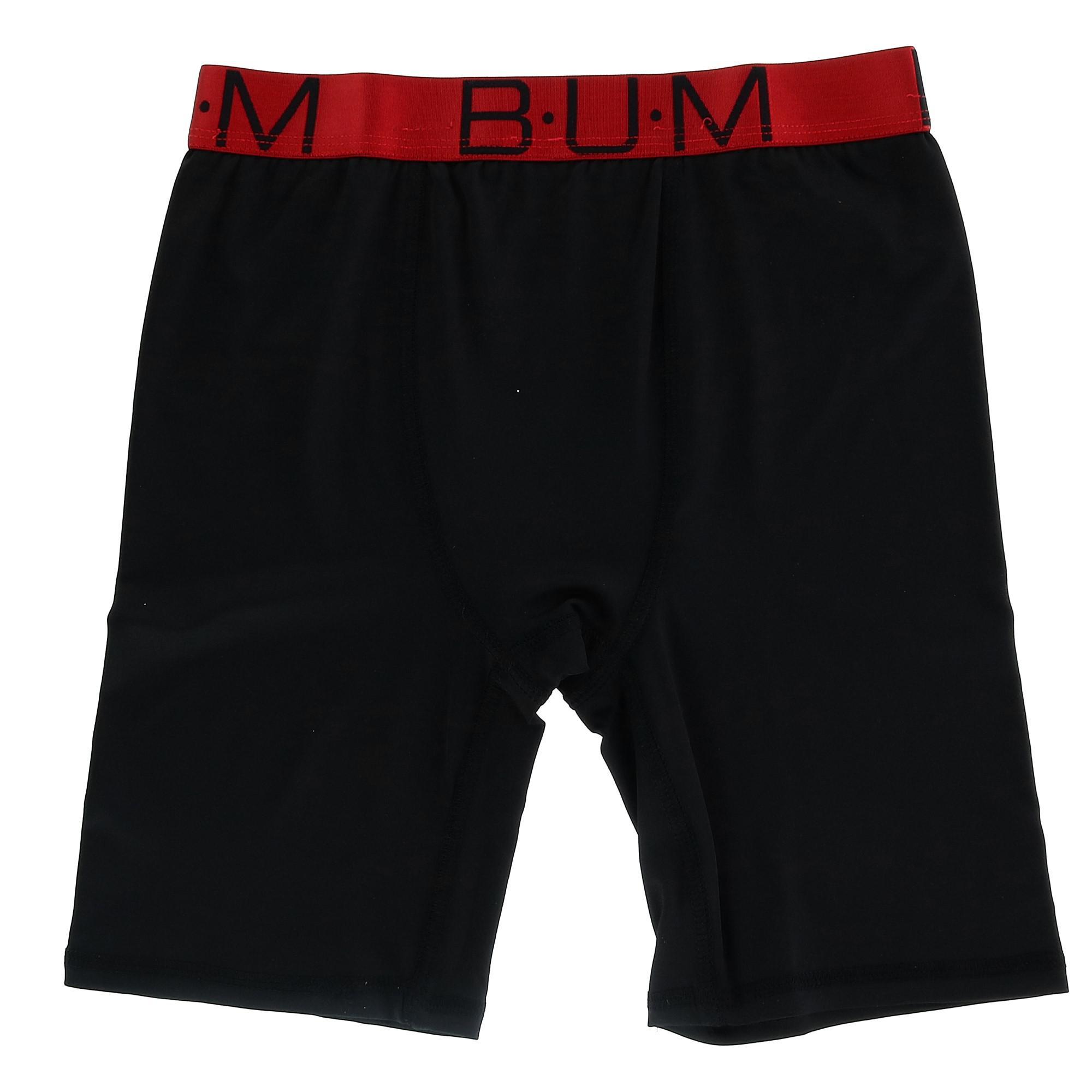 Boy/'s Knit Boxer Short Underwear 2 Pair Pack New B.U.M