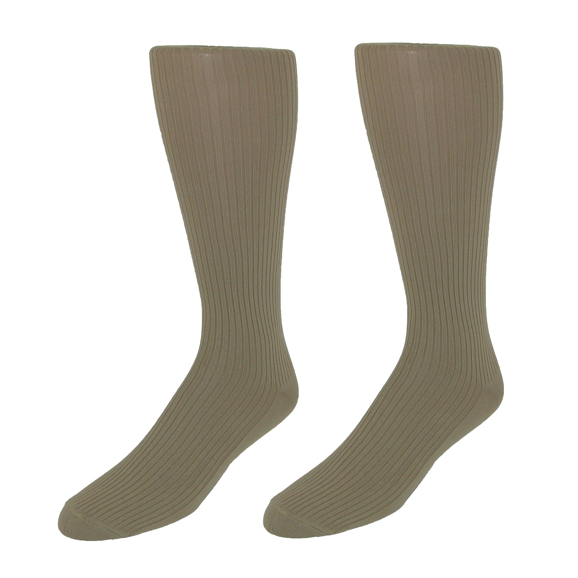 New-Jefferies-Socks-Men-039-s-Microfiber-Over-the-Calf-Dress-Socks-2-Pair-Pack miniature 5