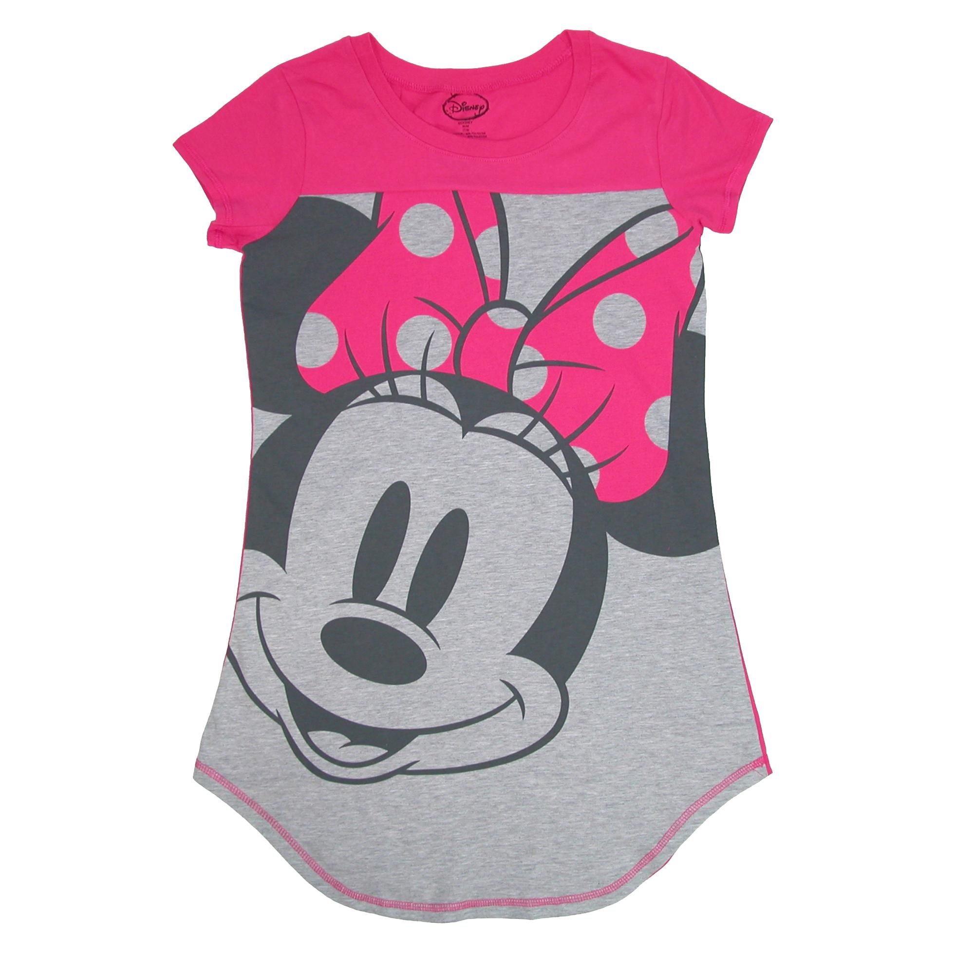 new disney minnie mouse sleep shirt nightgown ebay