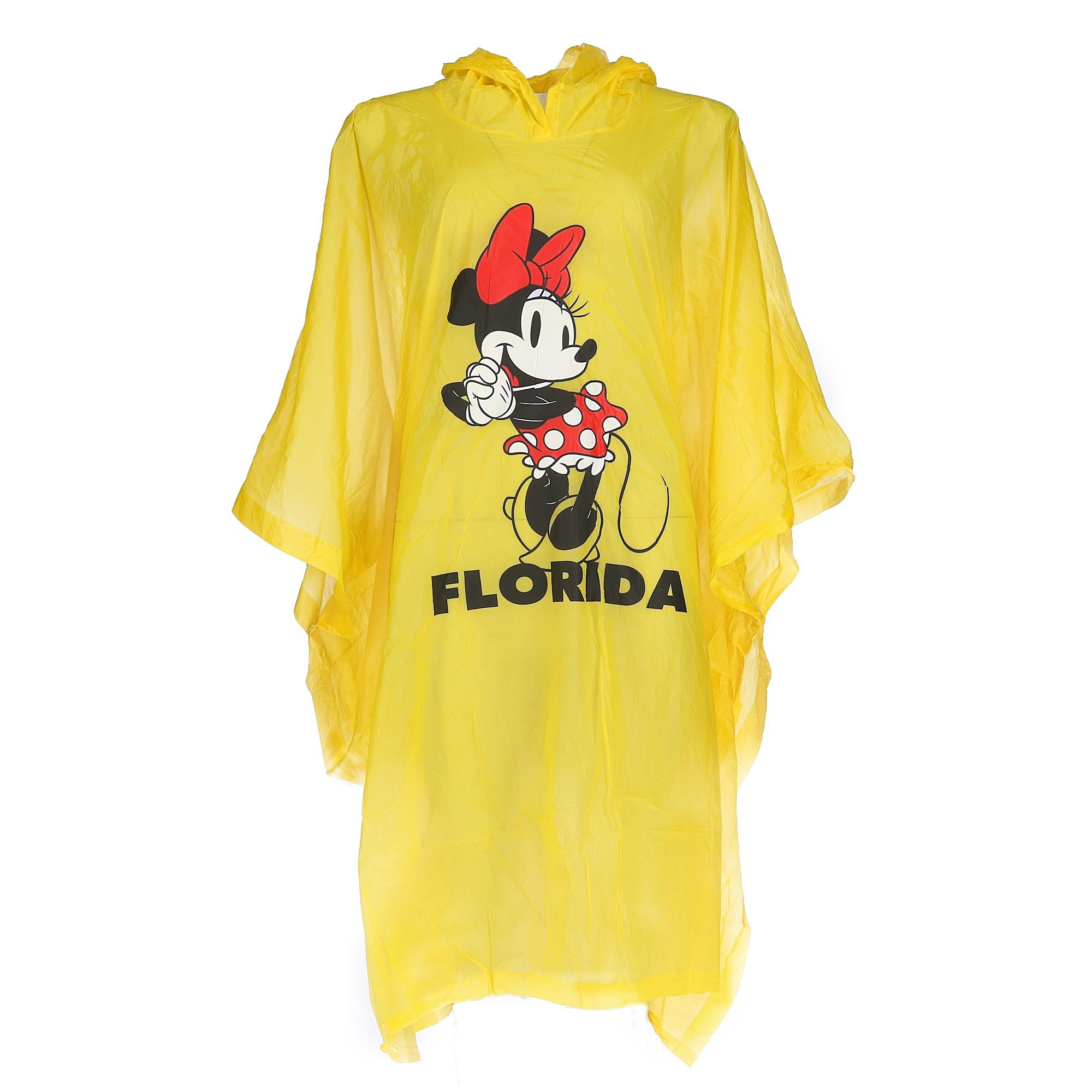Disney Kid's Minnie Mouse Florida Rain Poncho