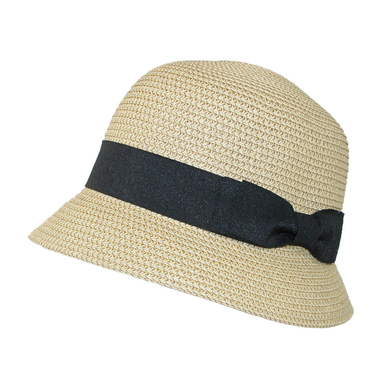 0da5e0c5a Details about New Jeanne Simmons Women's Paper Braided Summer Sun Cloche Hat